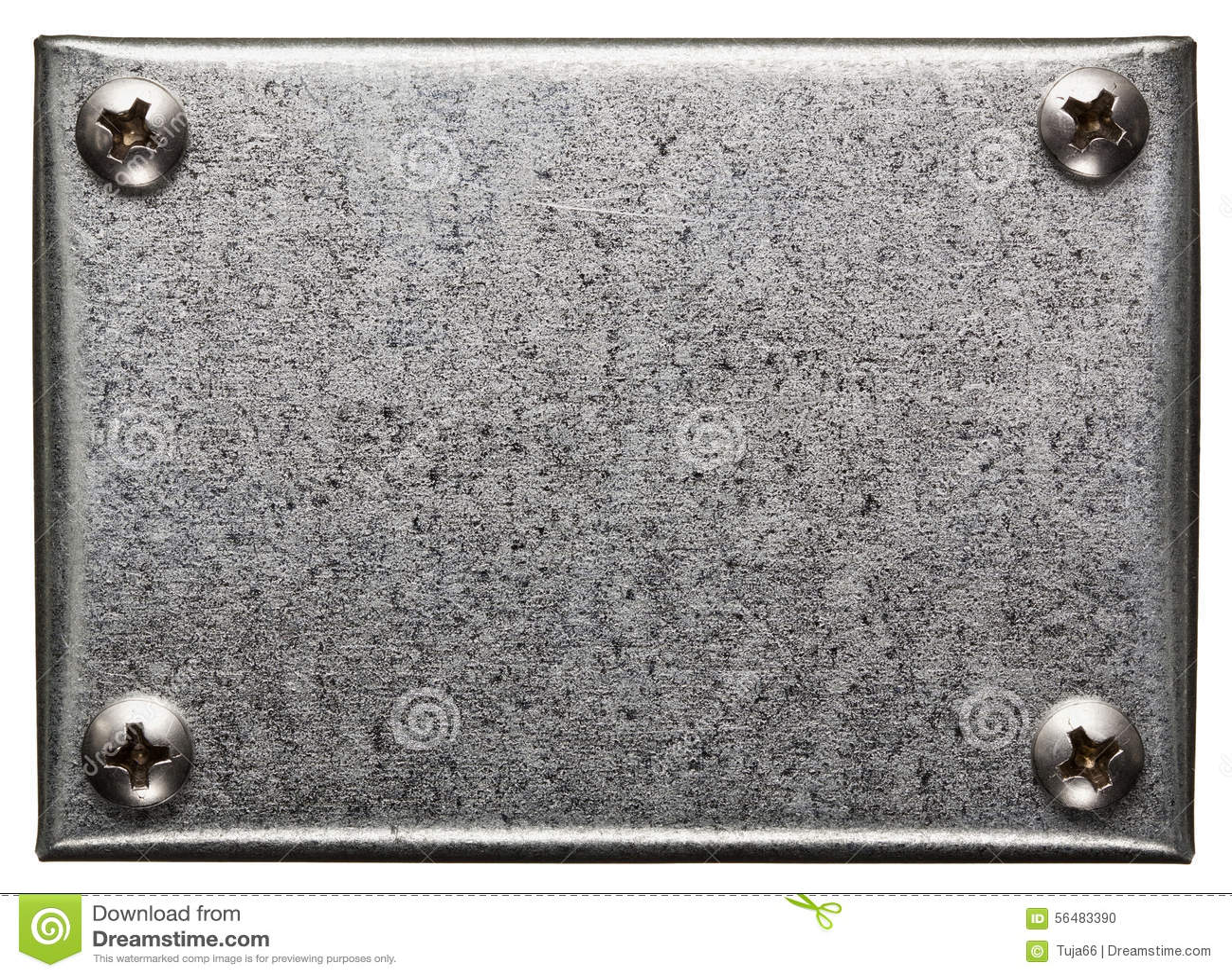 De plaque métallique