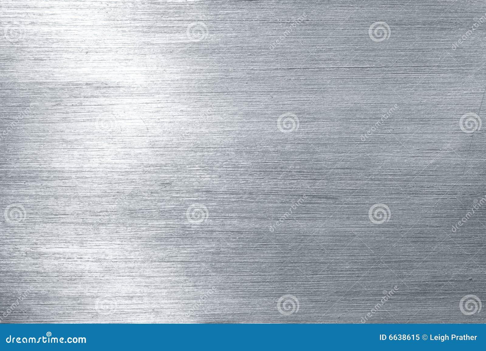 De plaque métallique balayé