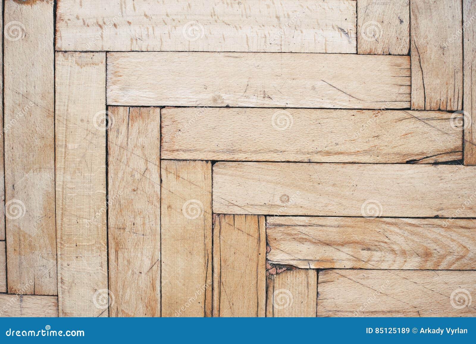 Gebruikte Houten Vloer : De plattelander verontrustte houten vloer stock afbeelding