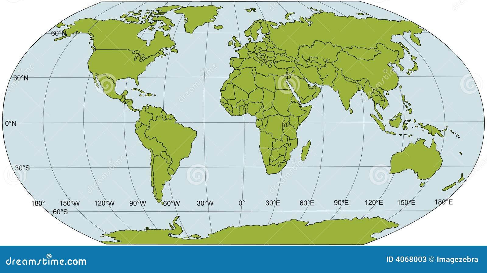De politieke kaart van de wereld stock foto 39 s afbeelding 4068003 - De thuisbasis van de wereld chesterfield ...