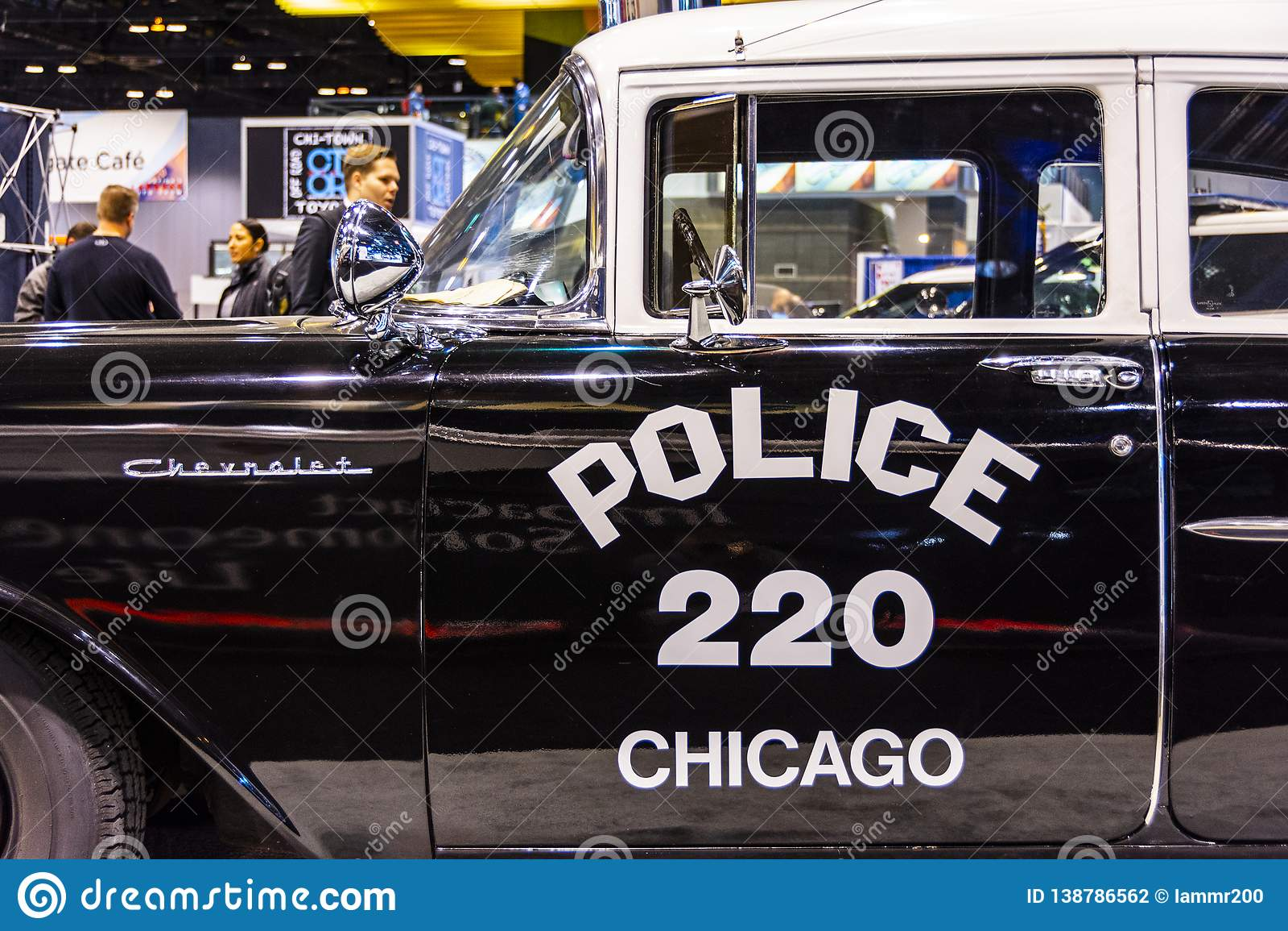 1957 de Politievoertuig van Chicago