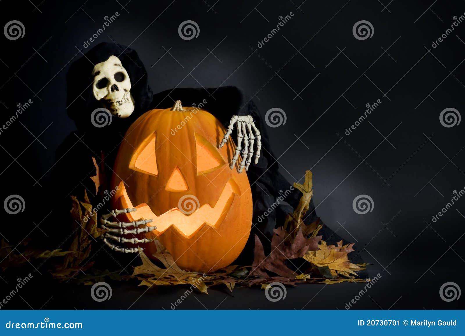 De Pompoen & de Lijkenetende geest van Halloween