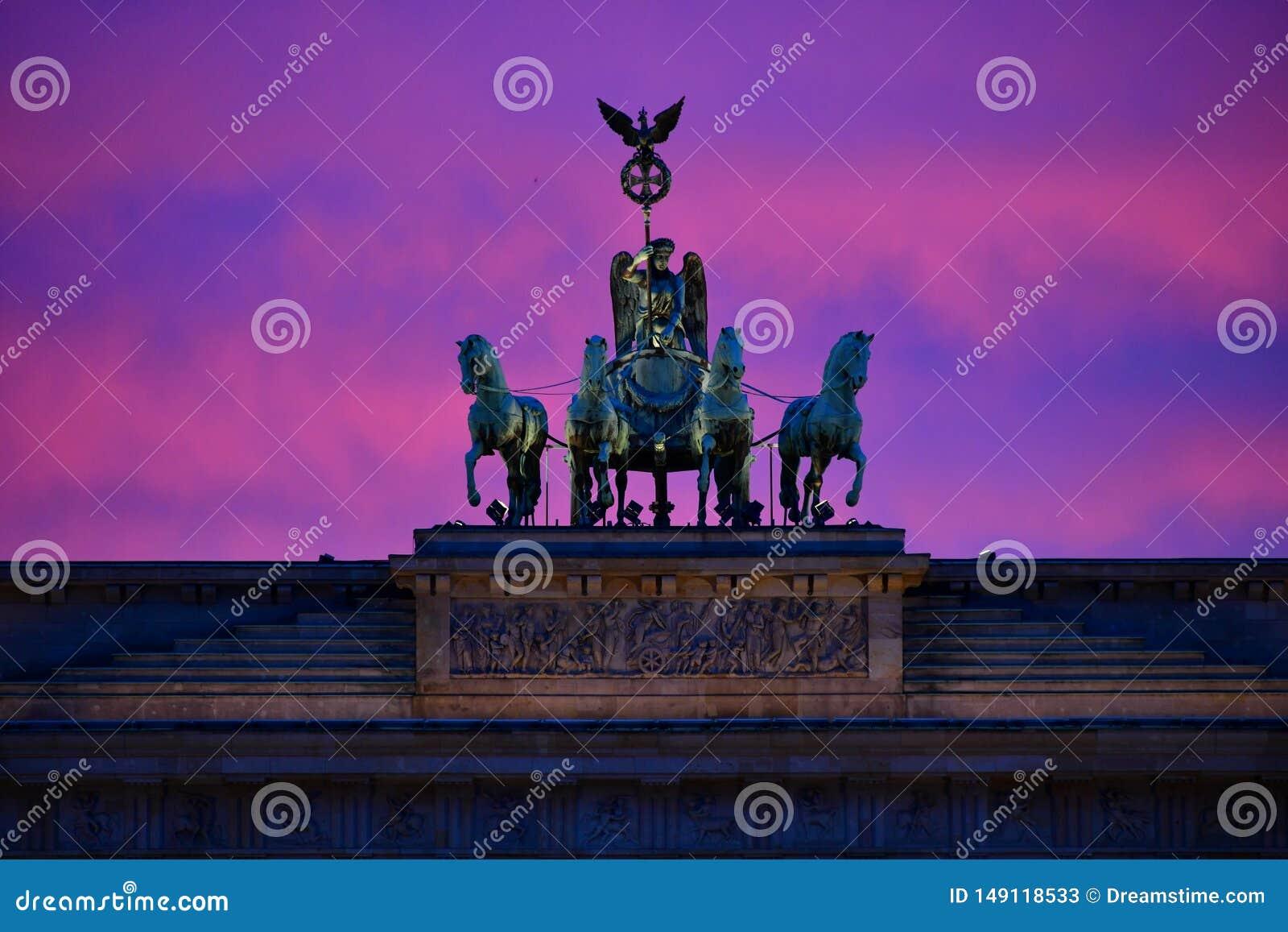 De Poort van Brandenburg - BerlÃn, Monument, Berlijn