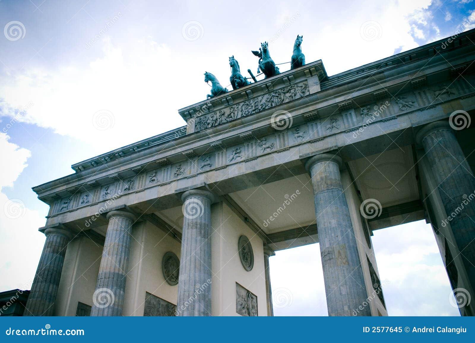 De poort van Brandenburg, Berlijn