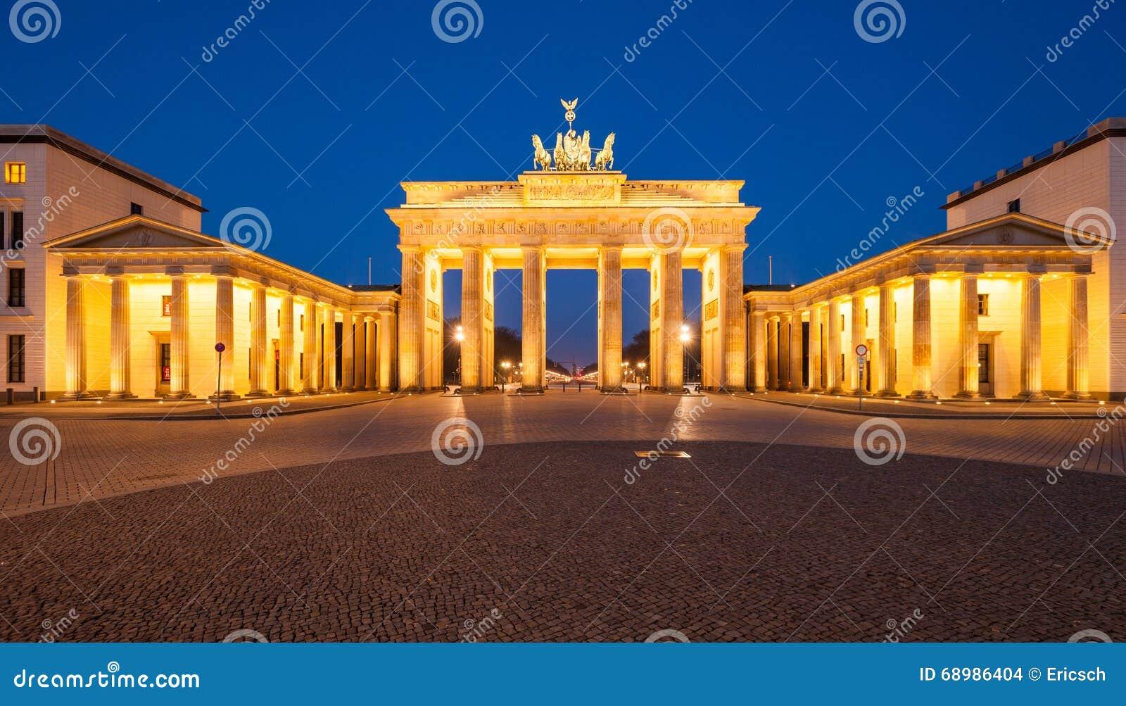 De Poort van Brandenburg (Brandenburger-Piek)