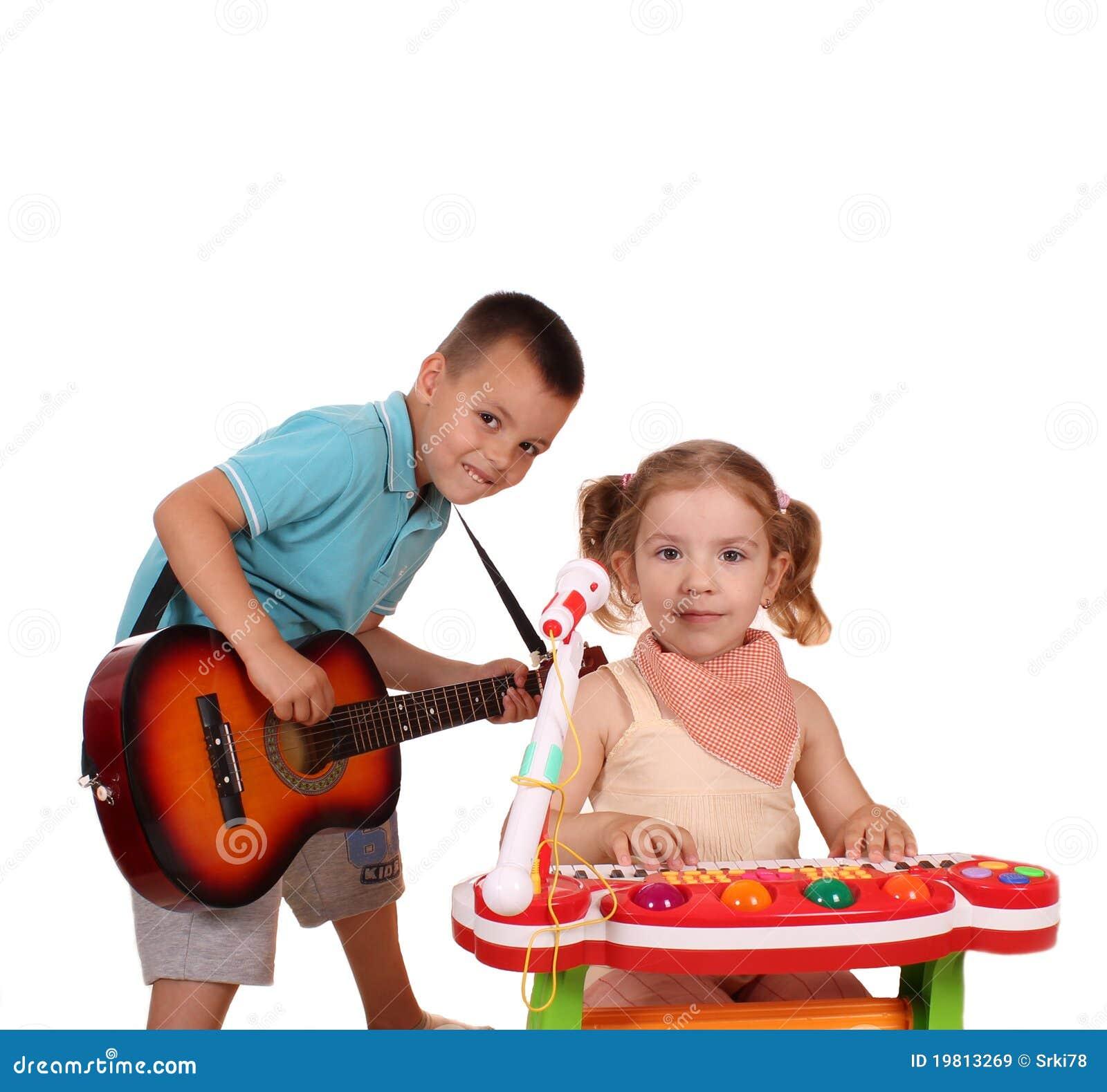 De popgroep van de jongen en van het meisje royalty vrije stock afbeeldingen afbeelding 19813269 - Turquoise ruimte van de jongen ...