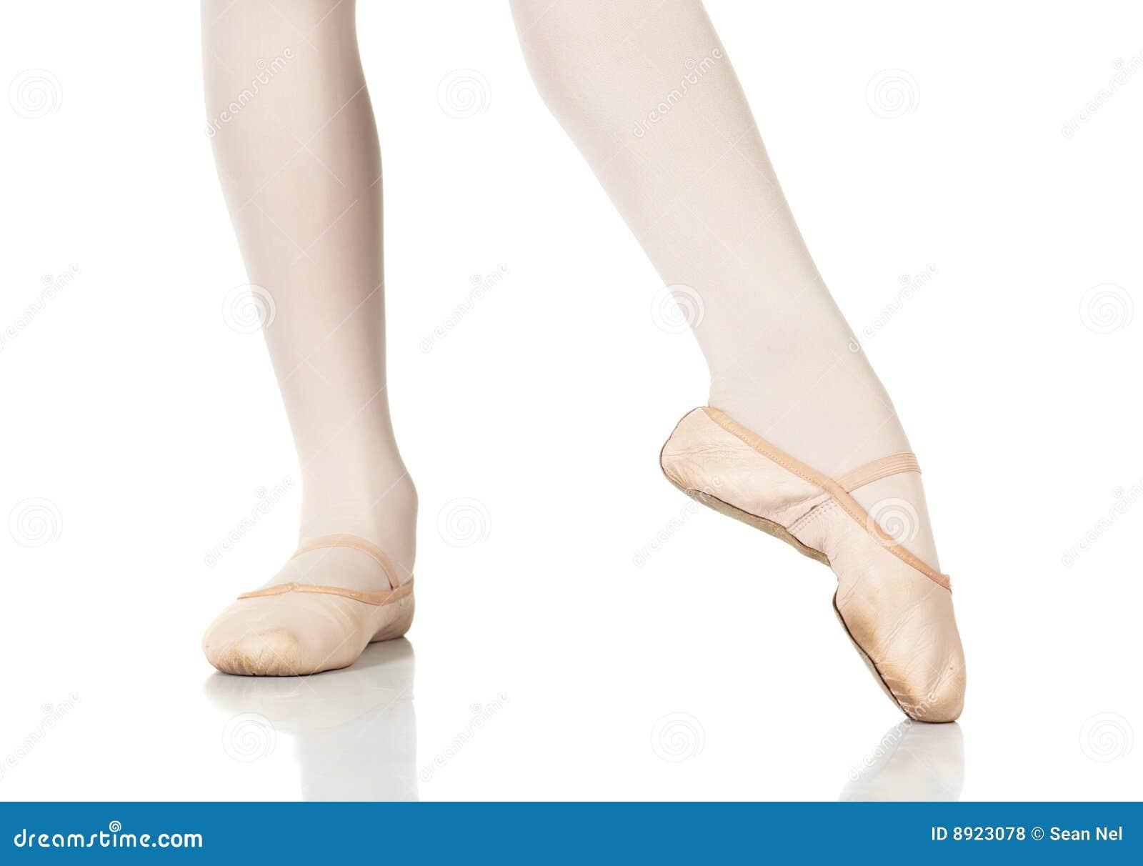 De Posities van de Voeten van het ballet