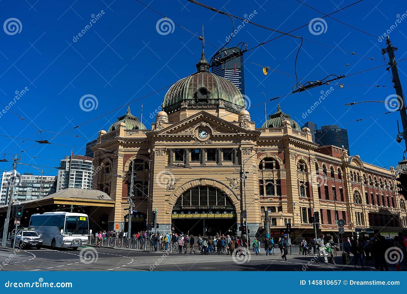 De Post Melbourne van de Straat van Flinders