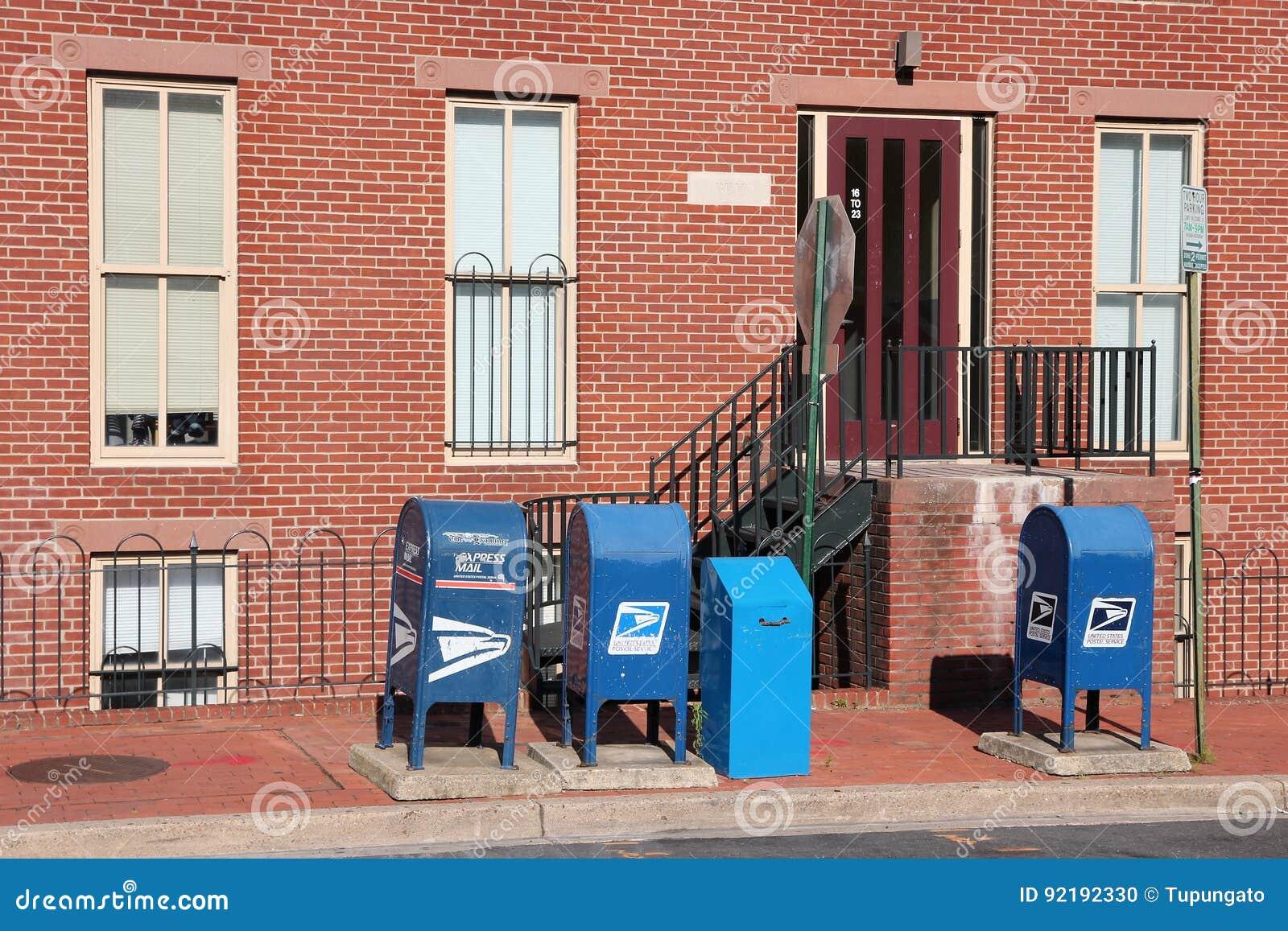 De Postbussen van de V.S.