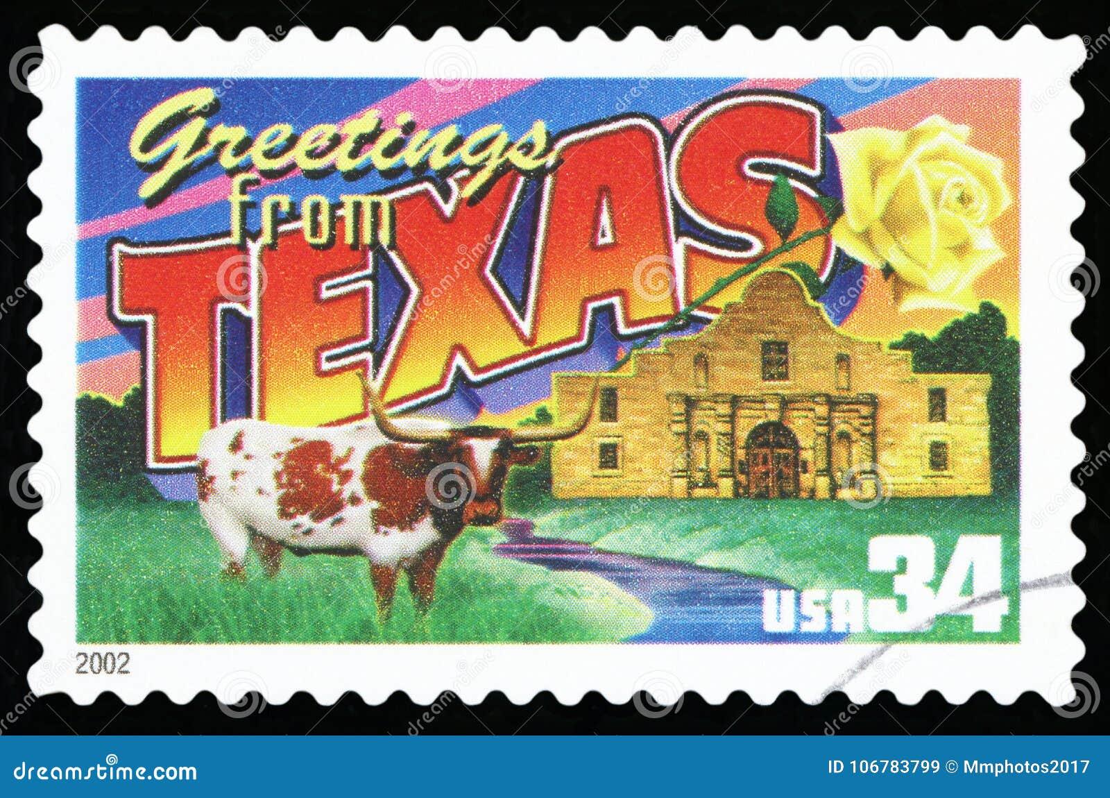 De Postzegel van de V.S.