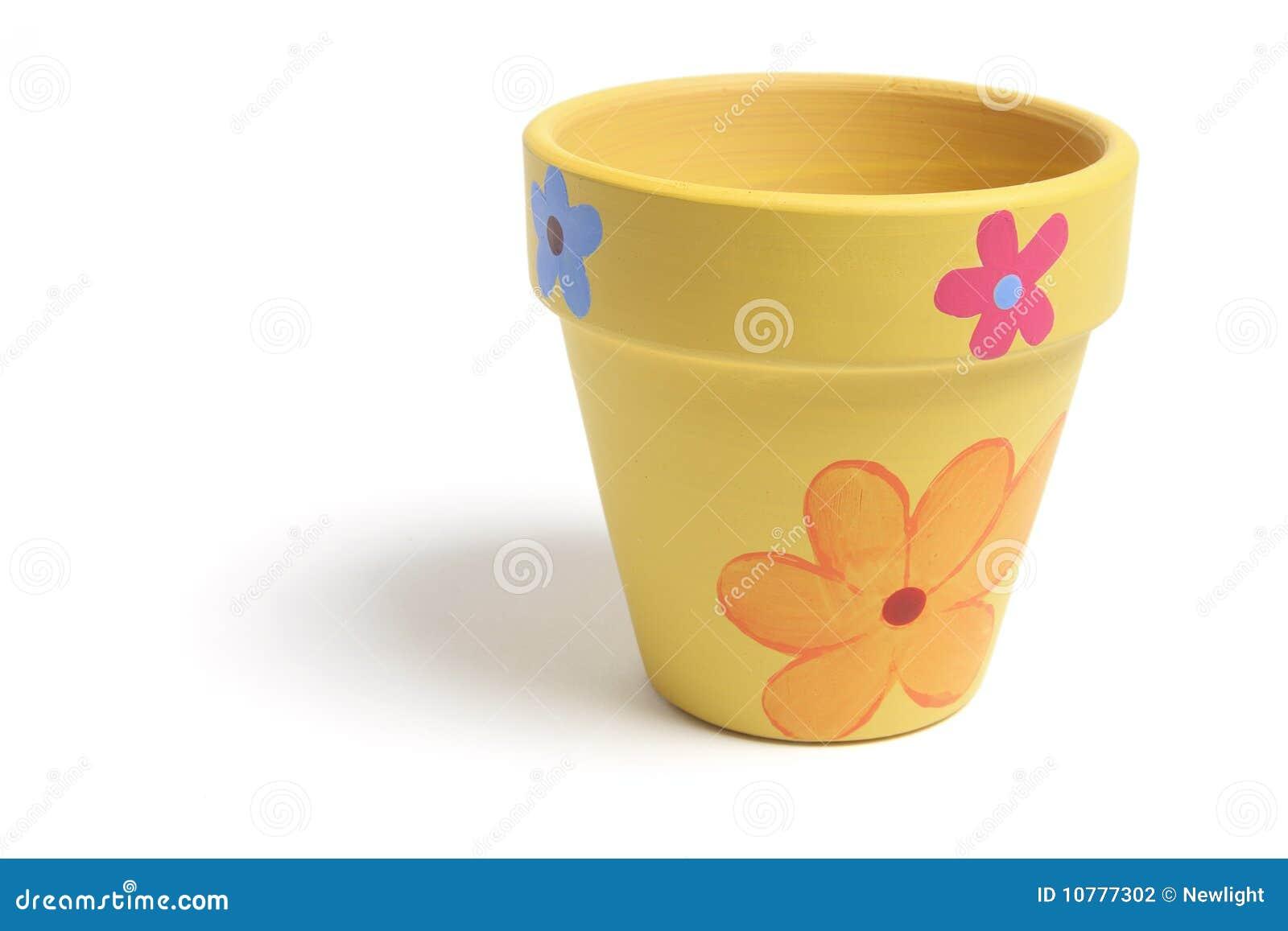 De Pot van de bloem