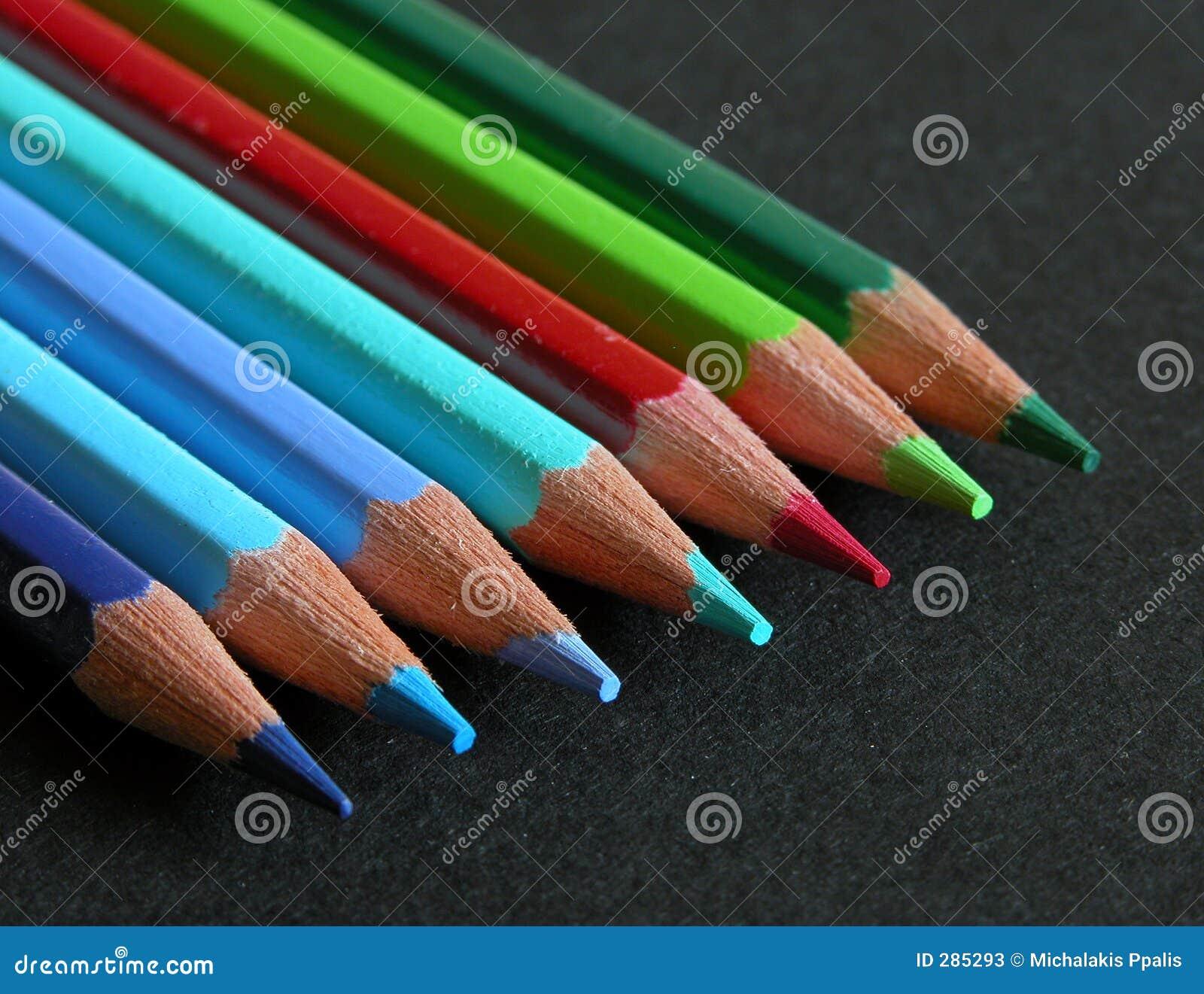 De Potloden van de kleur