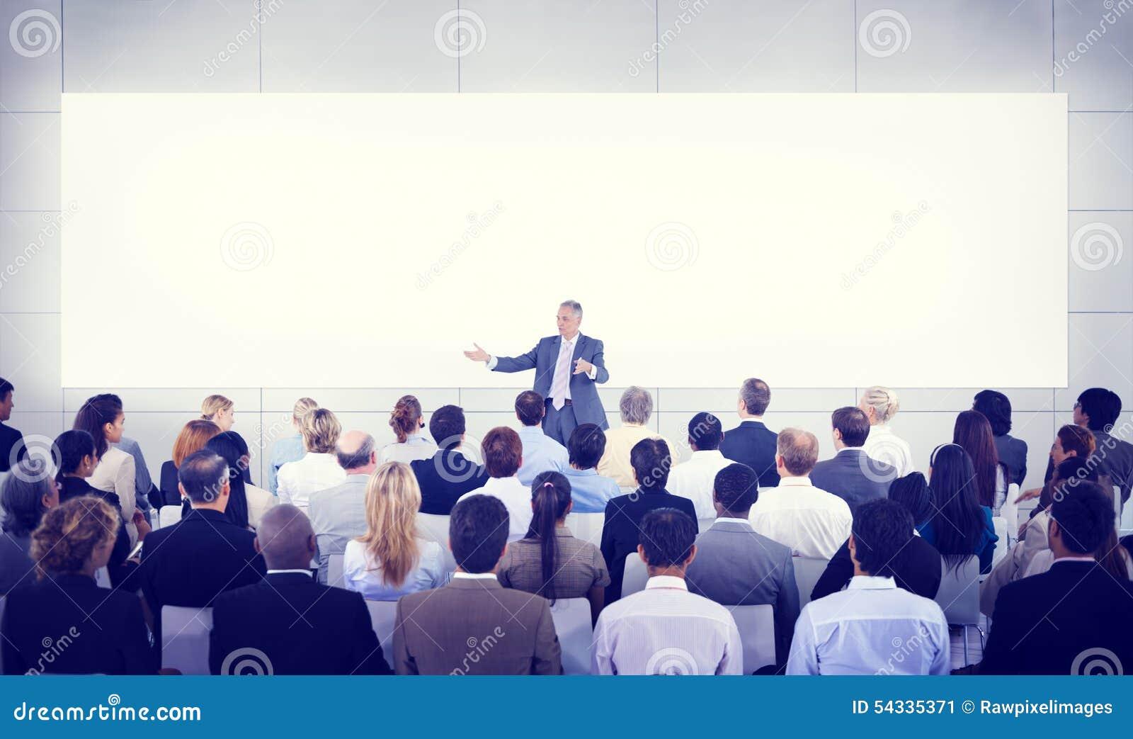 De Presentatie Team Concept diversiteits van het Bedrijfsmensenseminarie