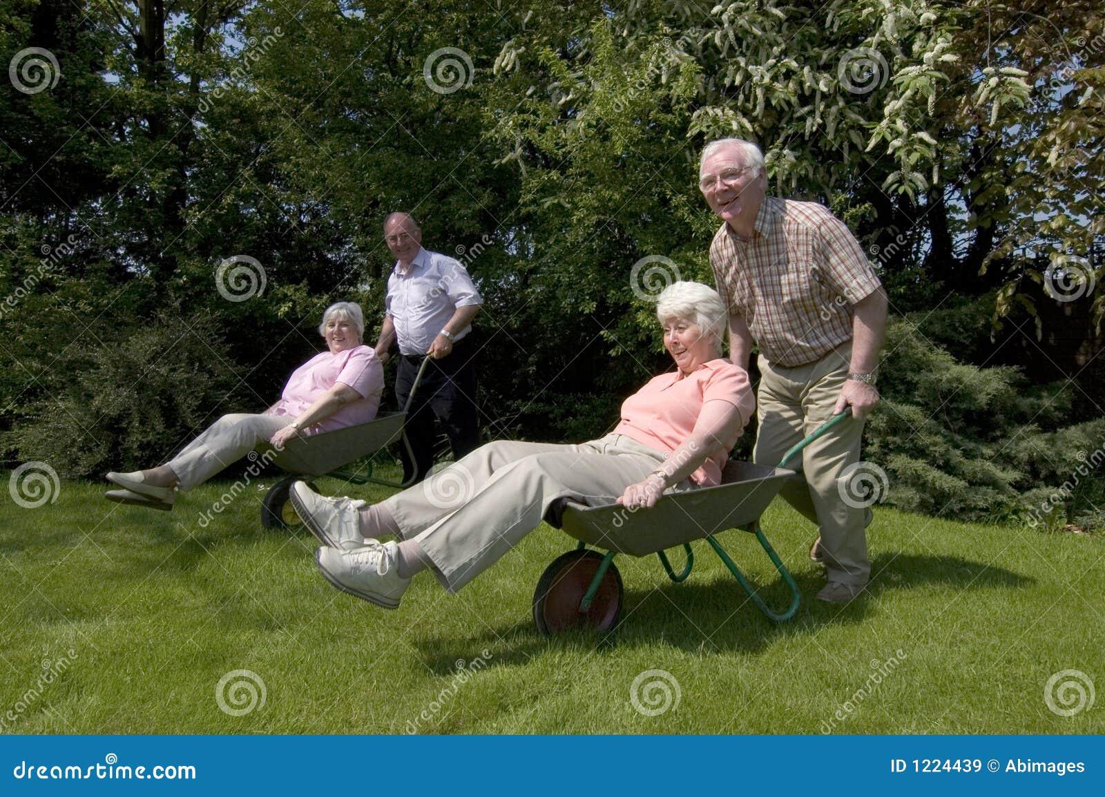 De pret van de pensionering