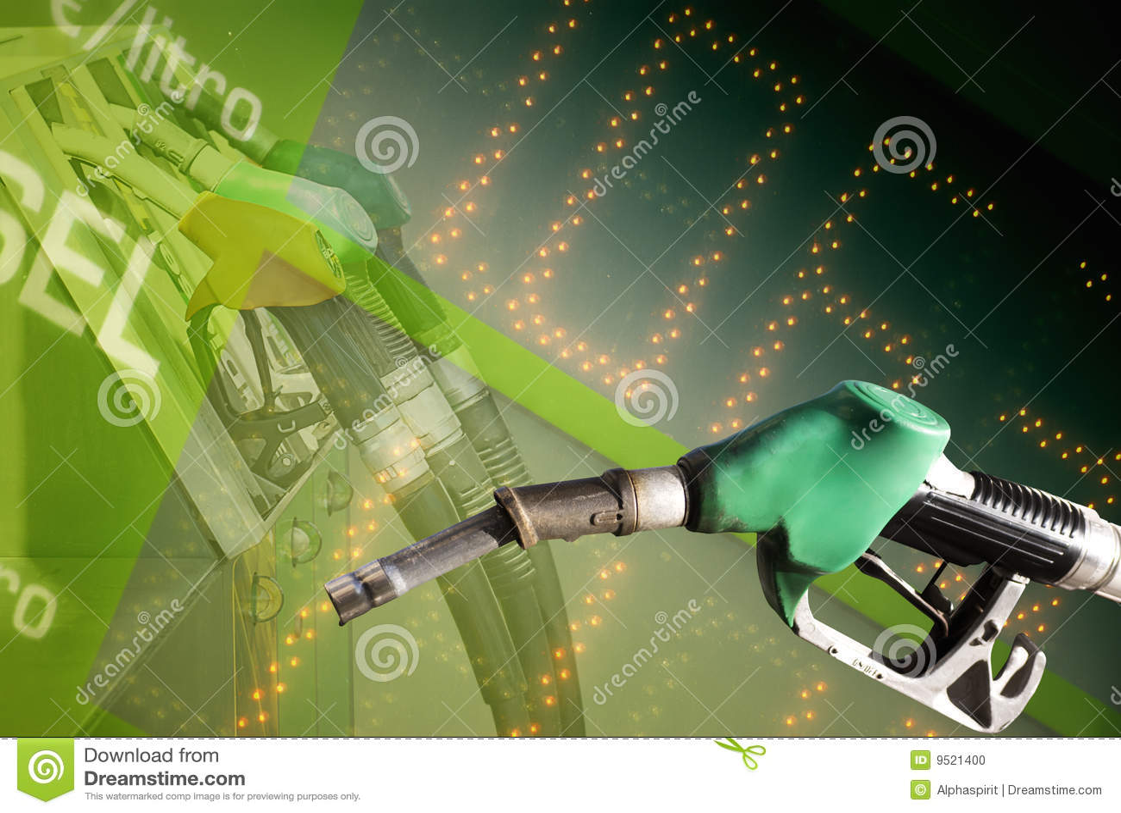 De prijs van de brandstof