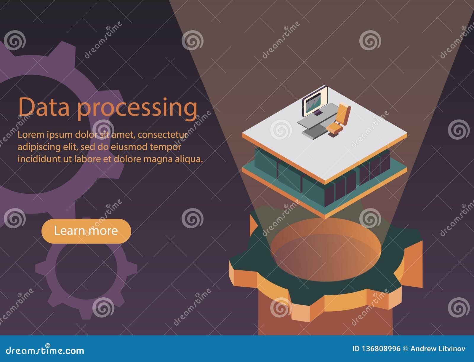 De proceso de datos