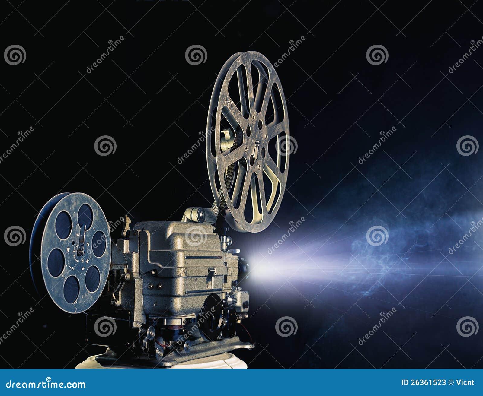 De projector van de bioskoop