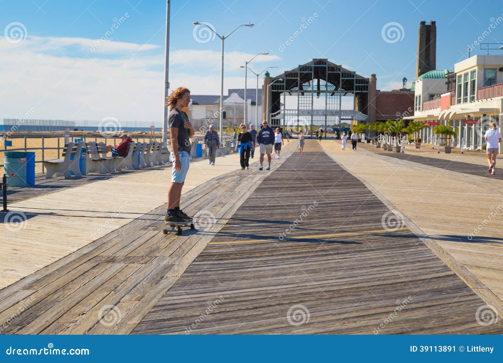 De Promenade van het Asburypark