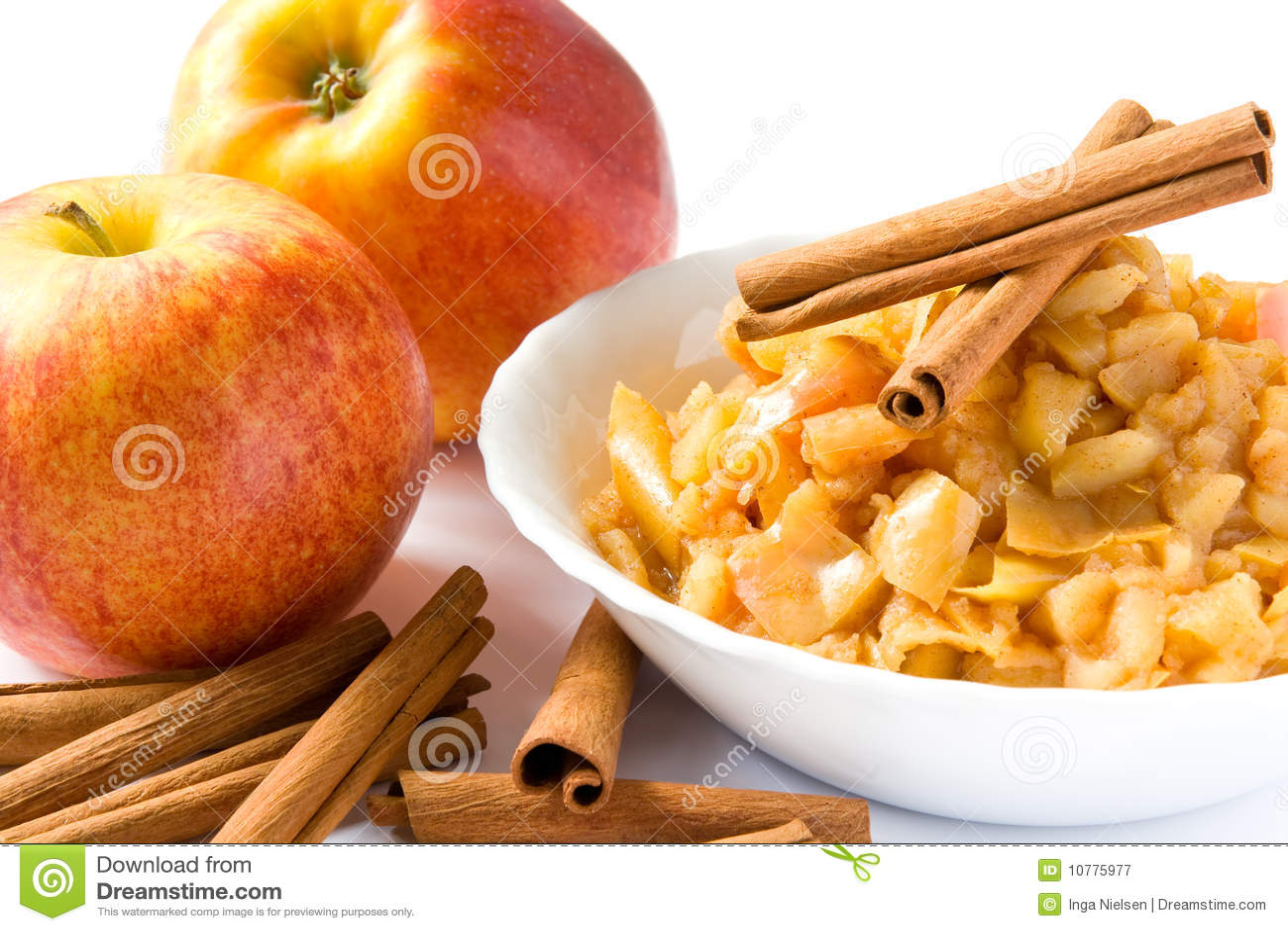 De puree van de appel