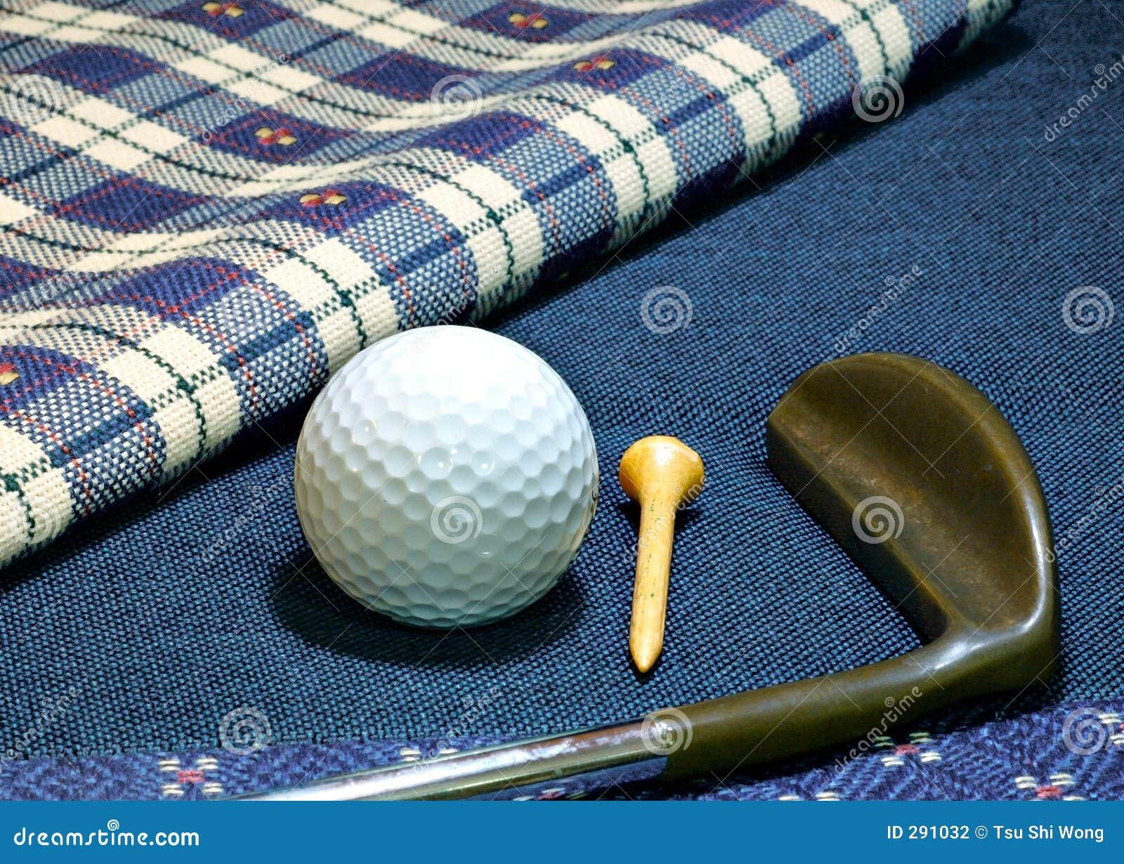 De putter van het golf