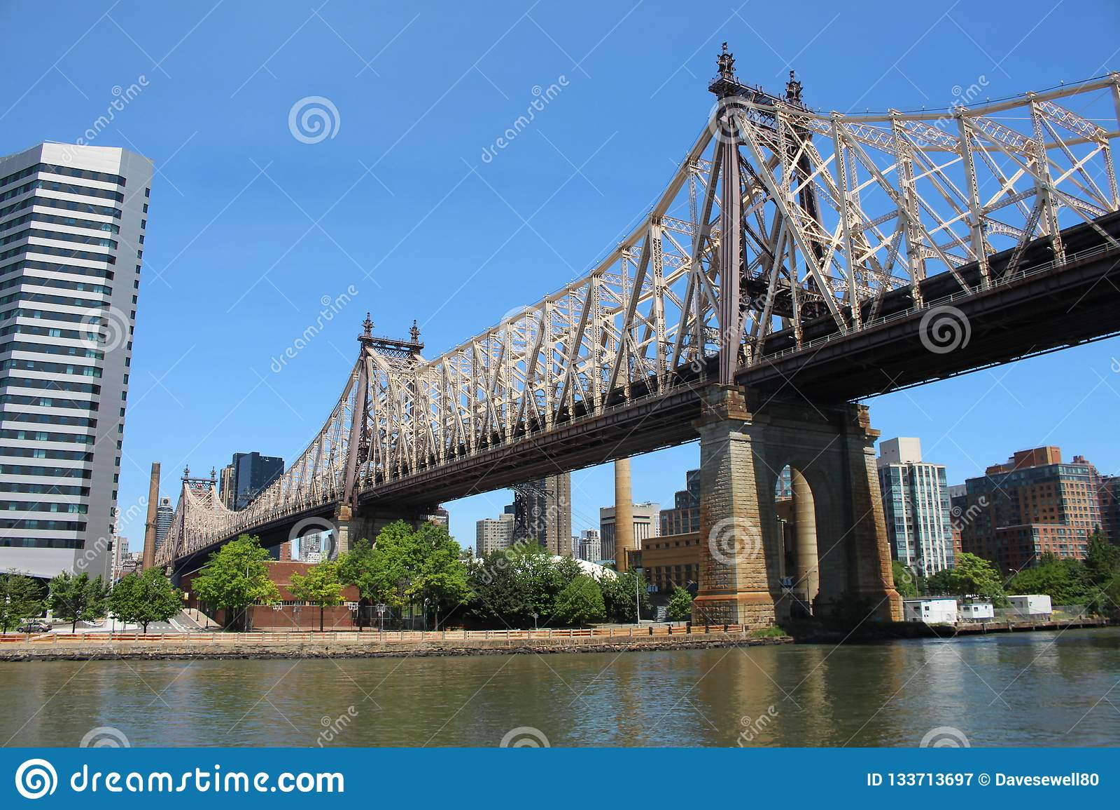 De Queensboro-Brug in New York