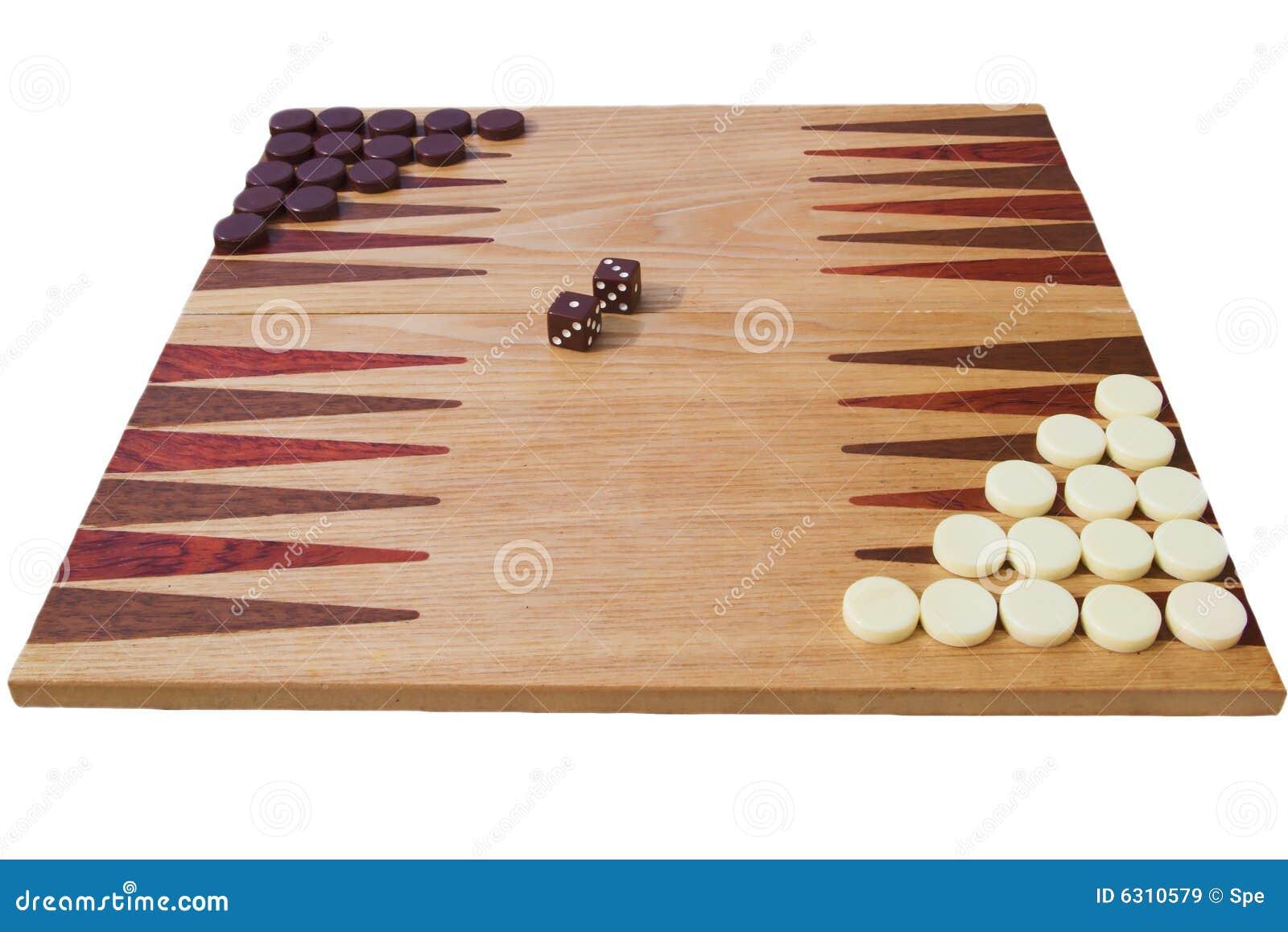 De raad van het backgammon