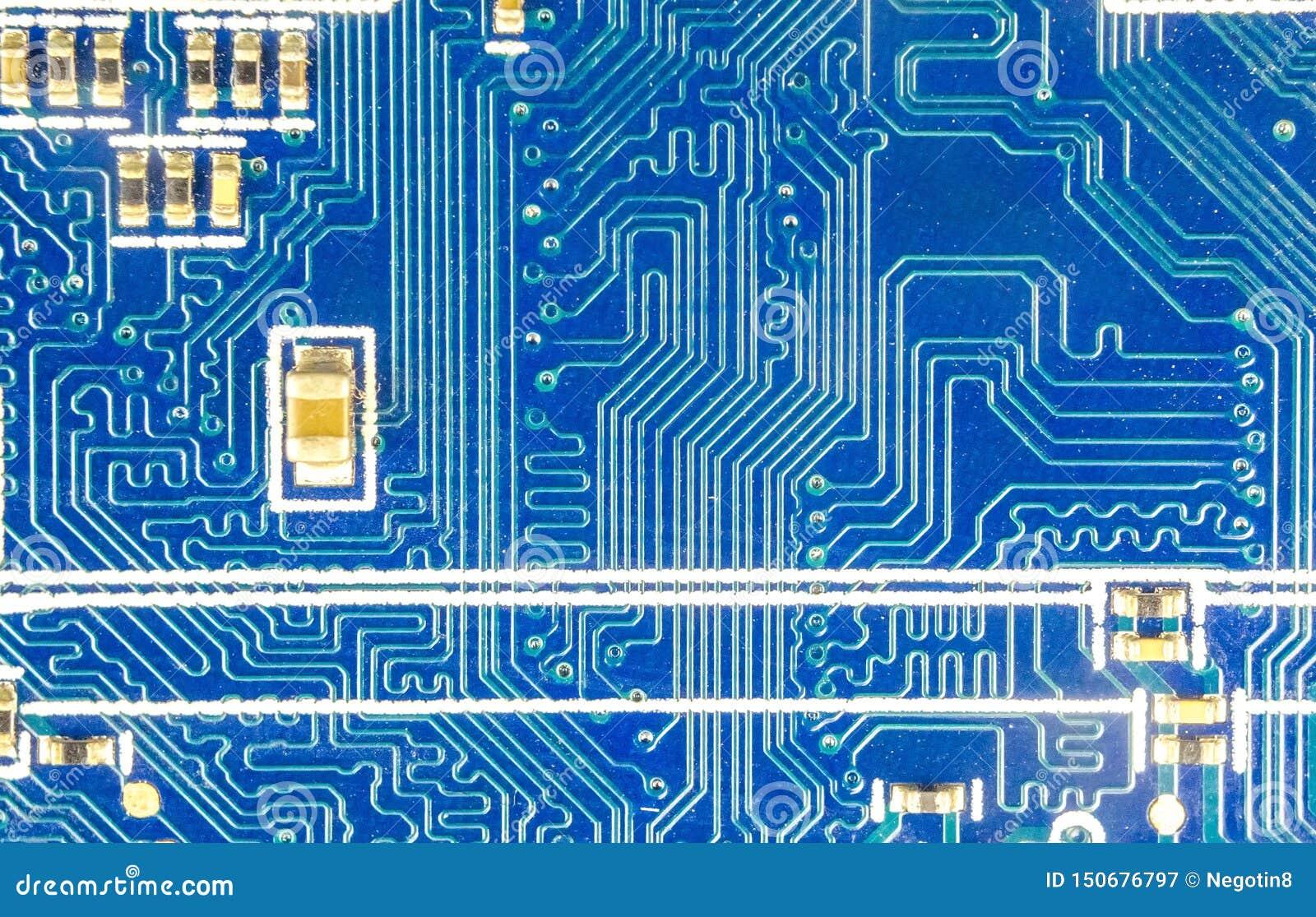 De raad van de kring De technologie van de elektronische computerhardware, macro gedrukte kringsraad