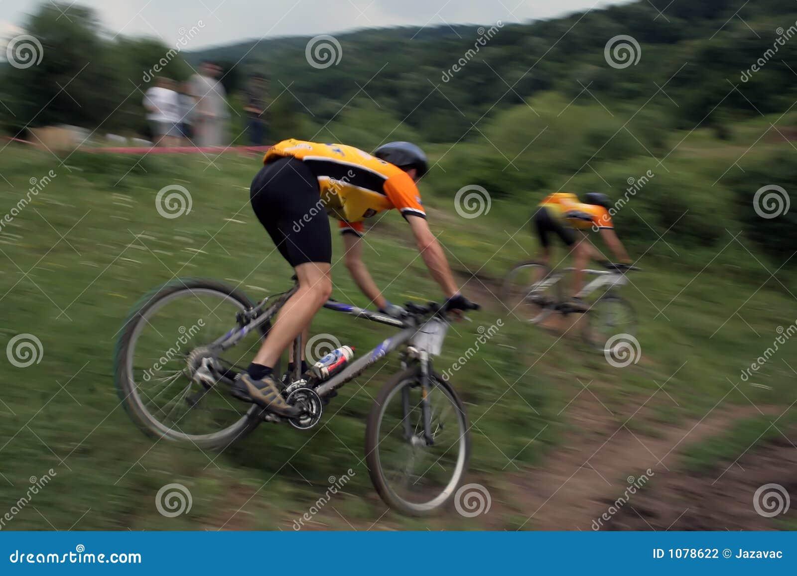 De raceauto s van de fiets