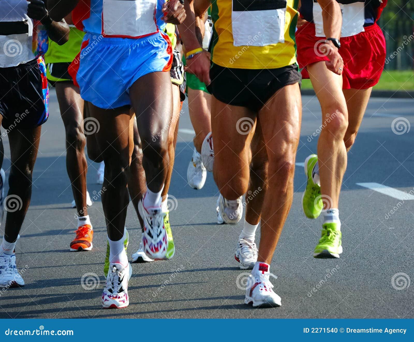 De raceauto s van de marathon