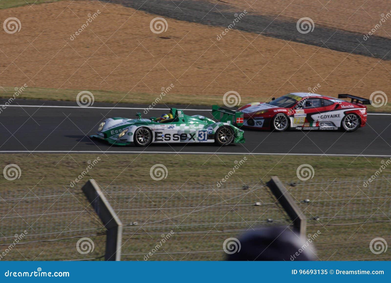 De Raceautokring van Le Mans