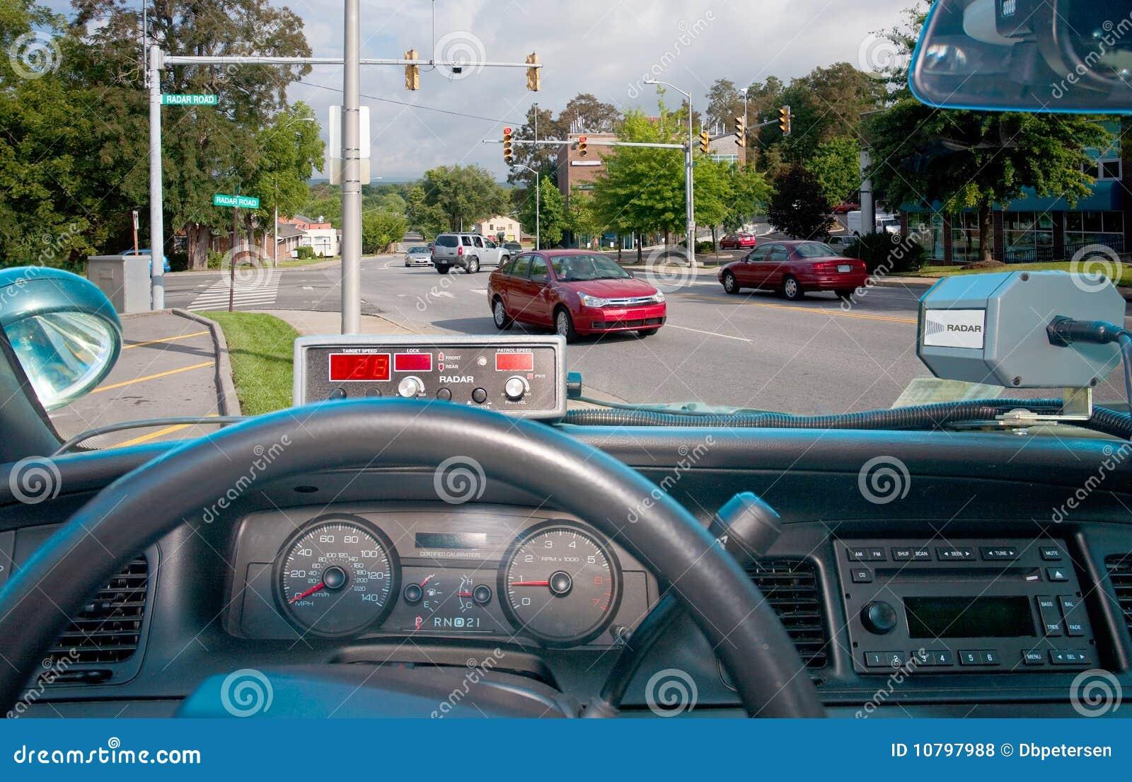 De Radar van het verkeer