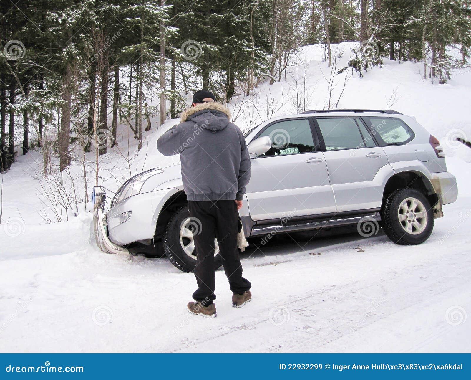 De redding van de auto
