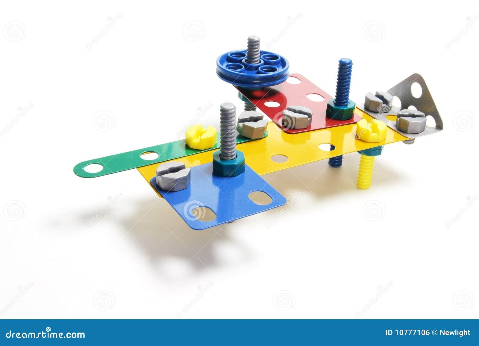 De Reeks van de Bouw van het stuk speelgoed