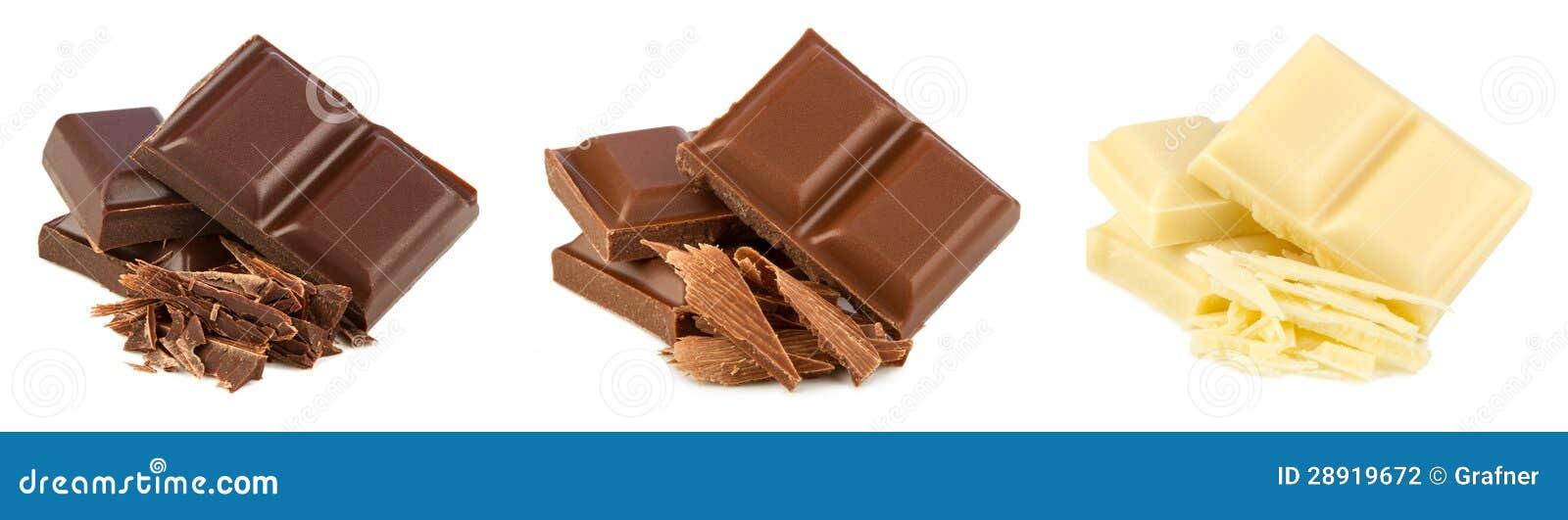 De reeks van de chocolade