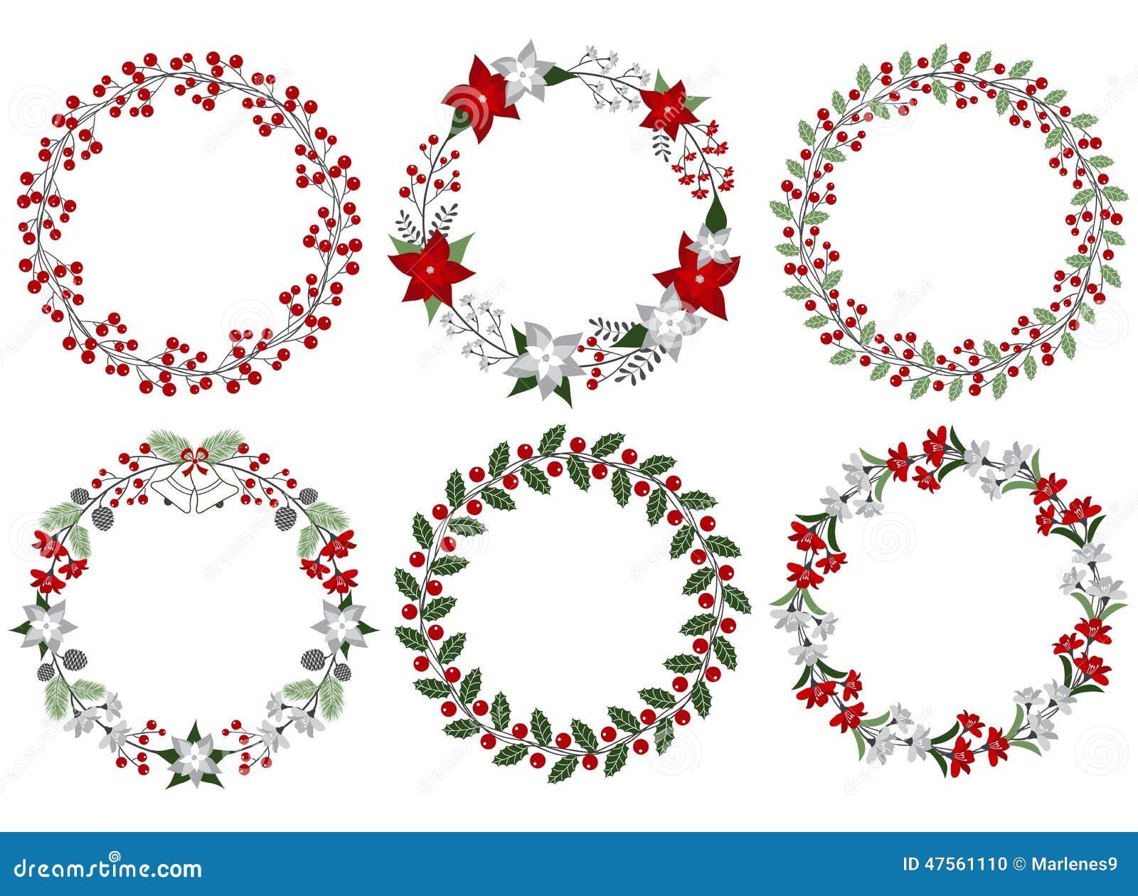 De reeks van de Kerstmiskroon