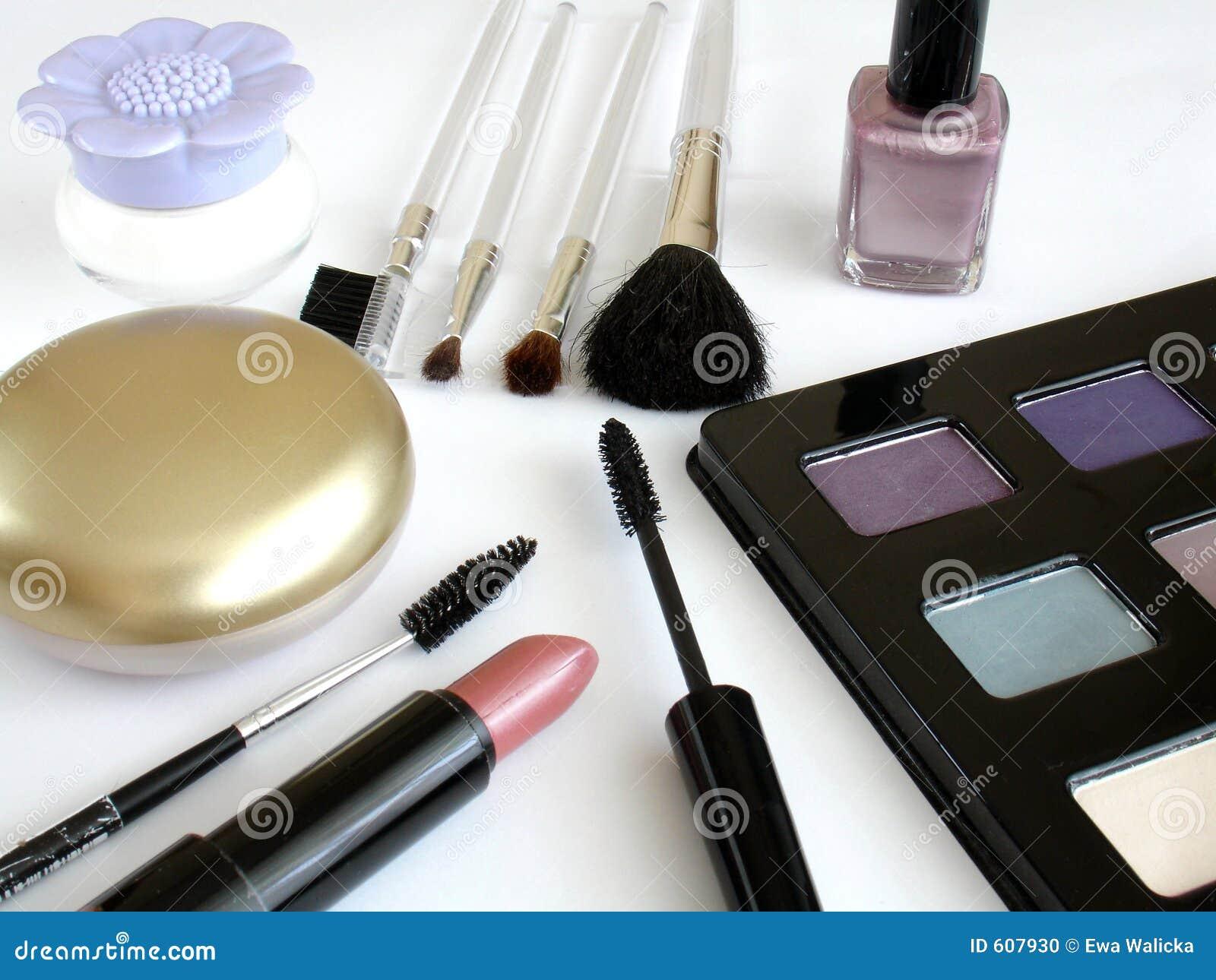 De reeks van de make-up