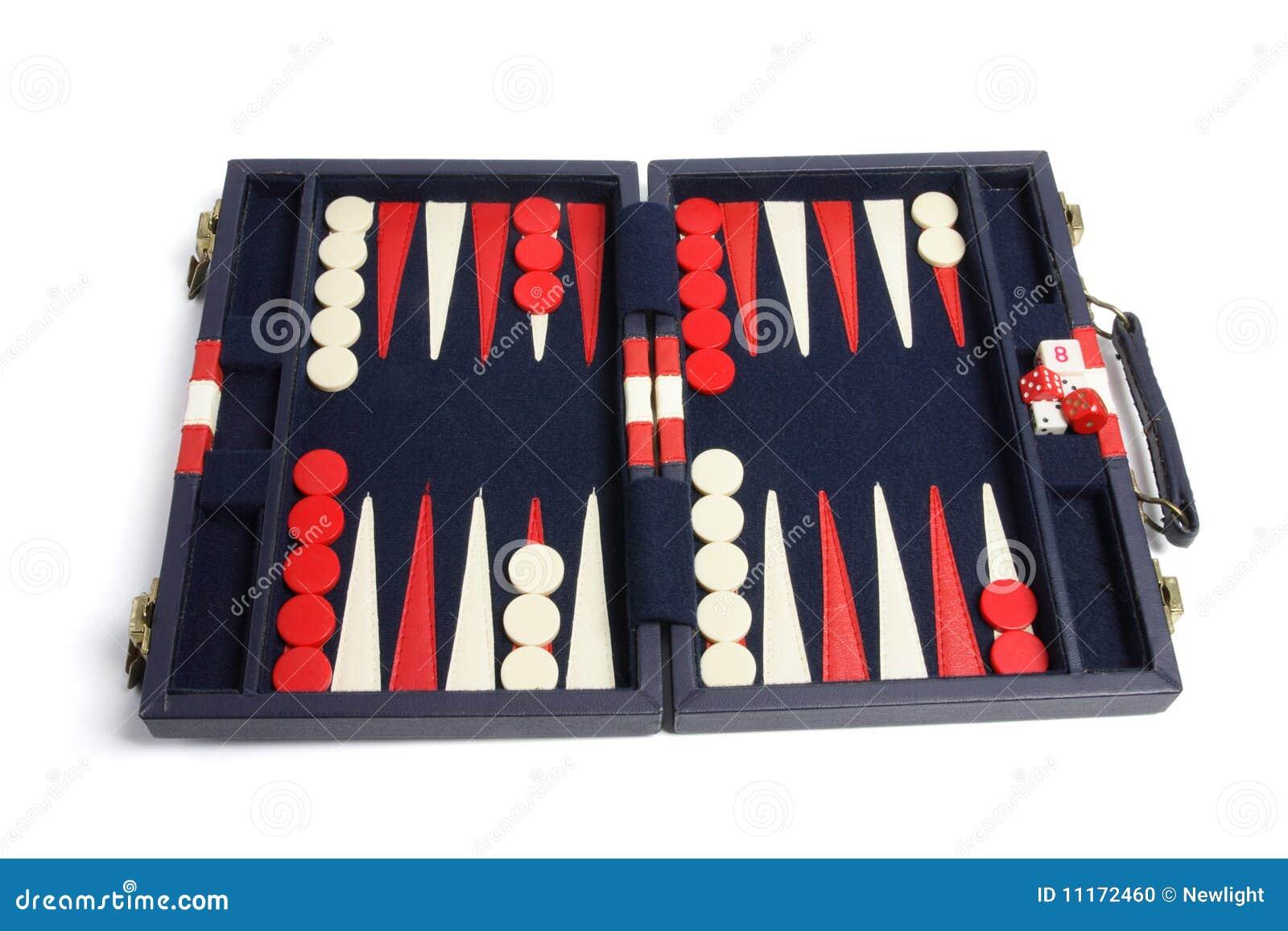 De Reeks van het backgammon