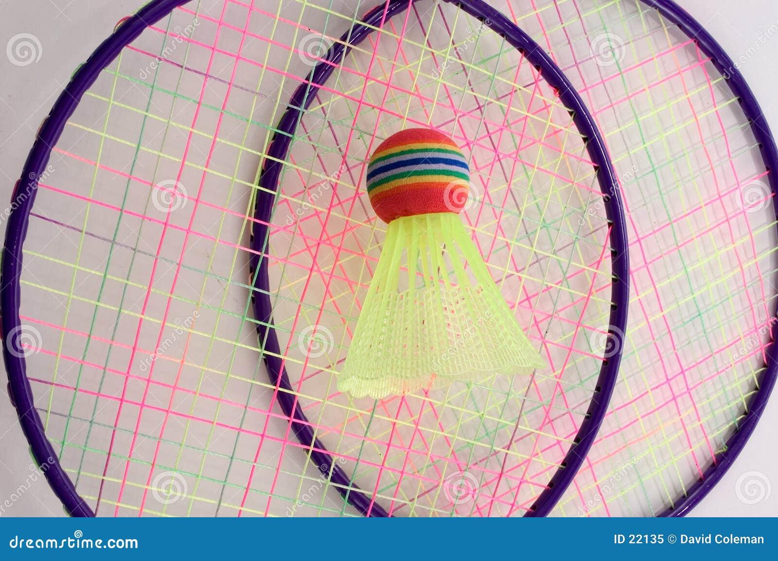 De Reeks van het badminton