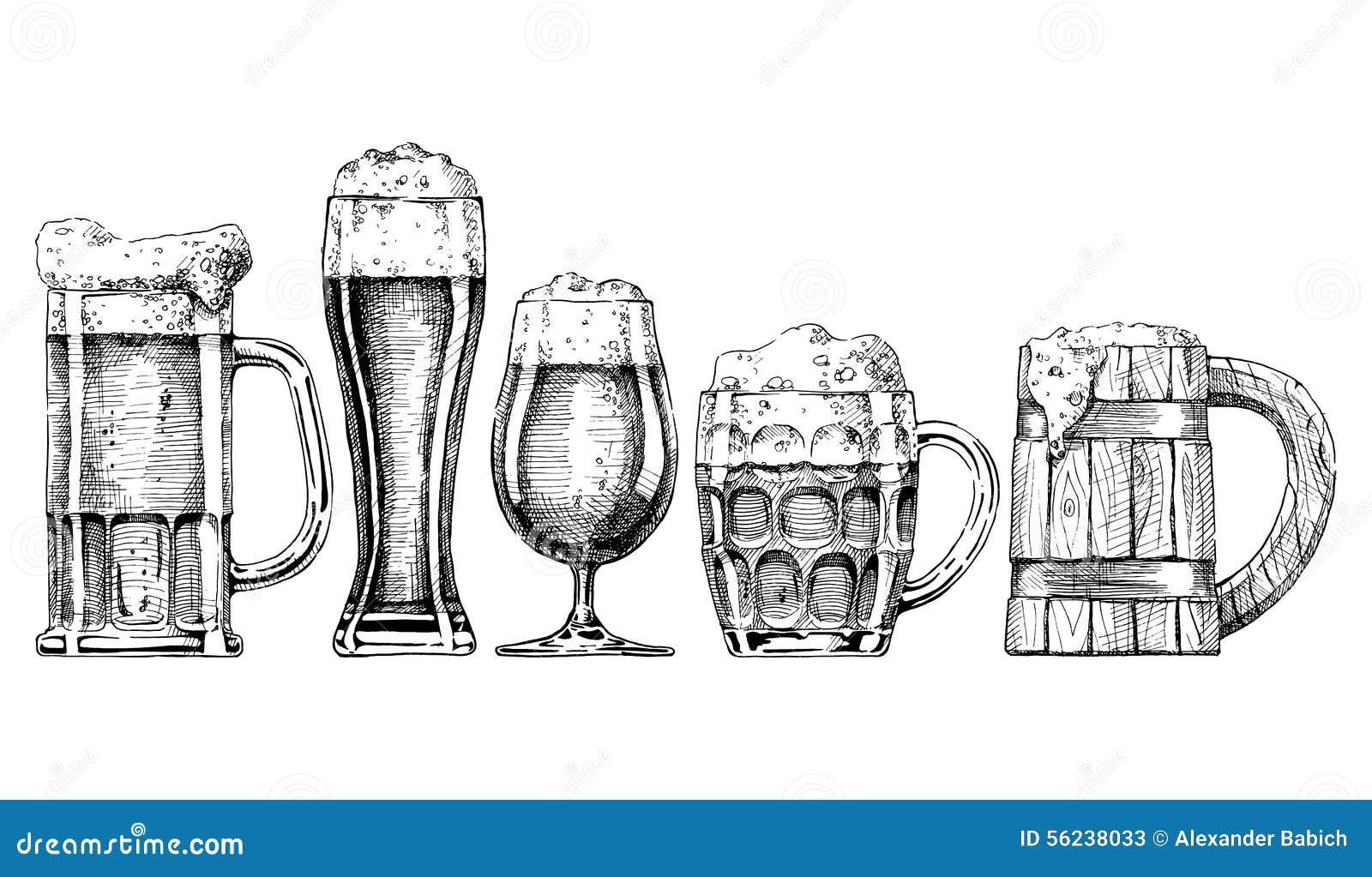 De Reeks van het bier