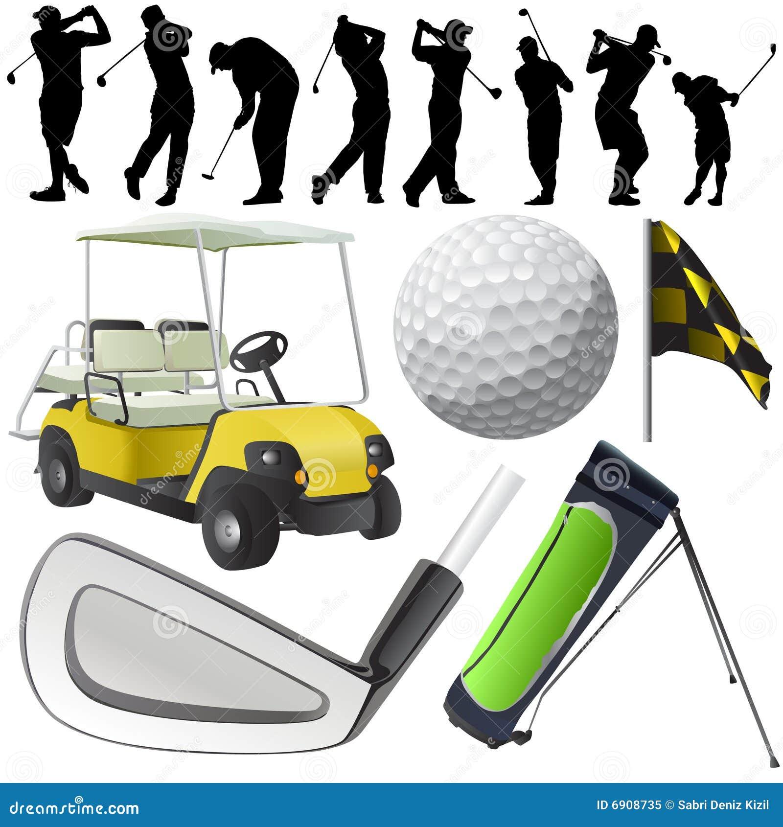 De reeks van het golf