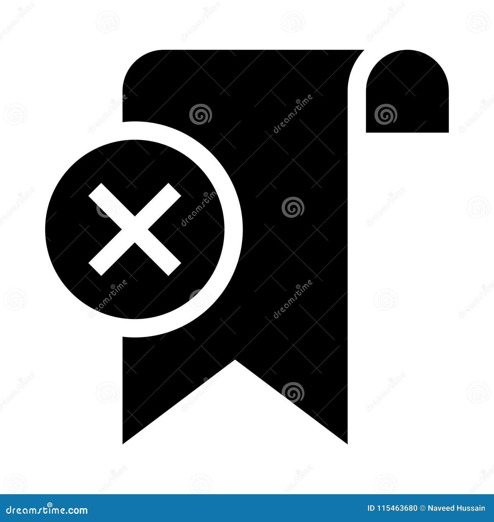 De referentie schrapt glyphs pictogram