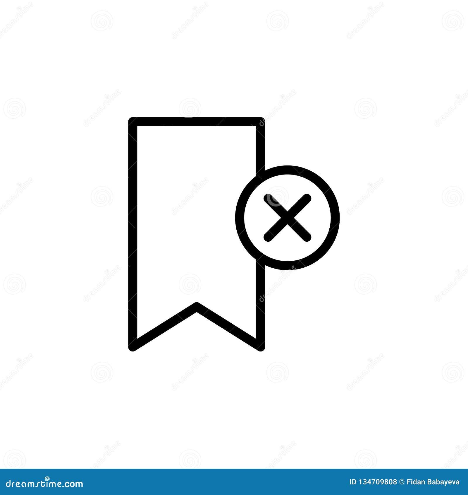 De referentie, schrapt, kruist pictogram Kan voor Web, embleem, mobiele toepassing, UI, UX worden gebruikt