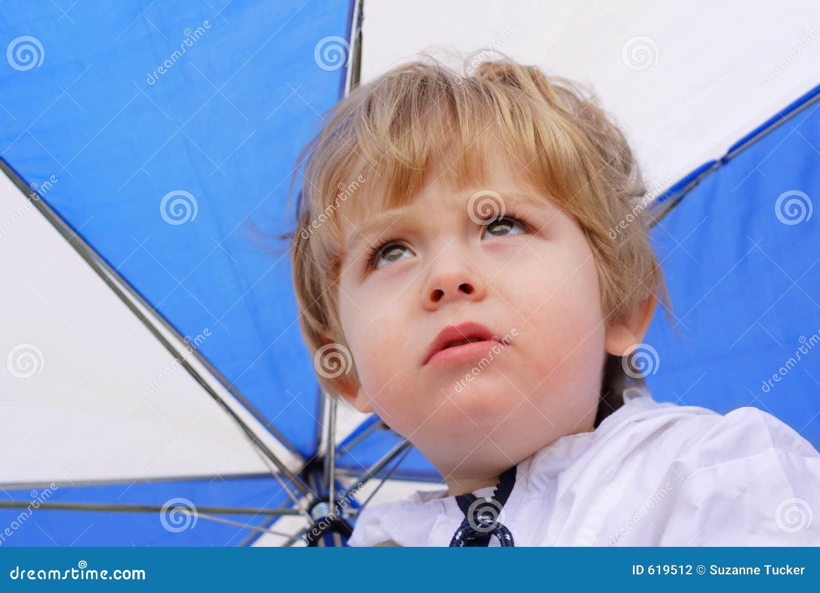 De regen van de regen gaat weg
