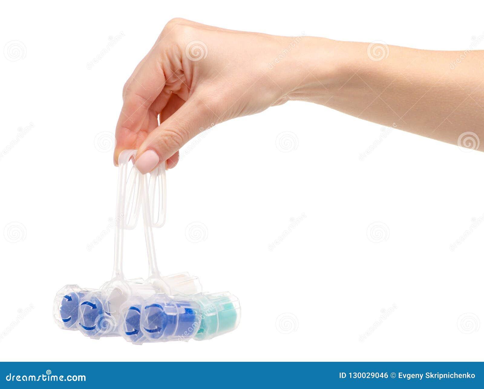 De reinigingsmachine van toiletballen ter beschikking