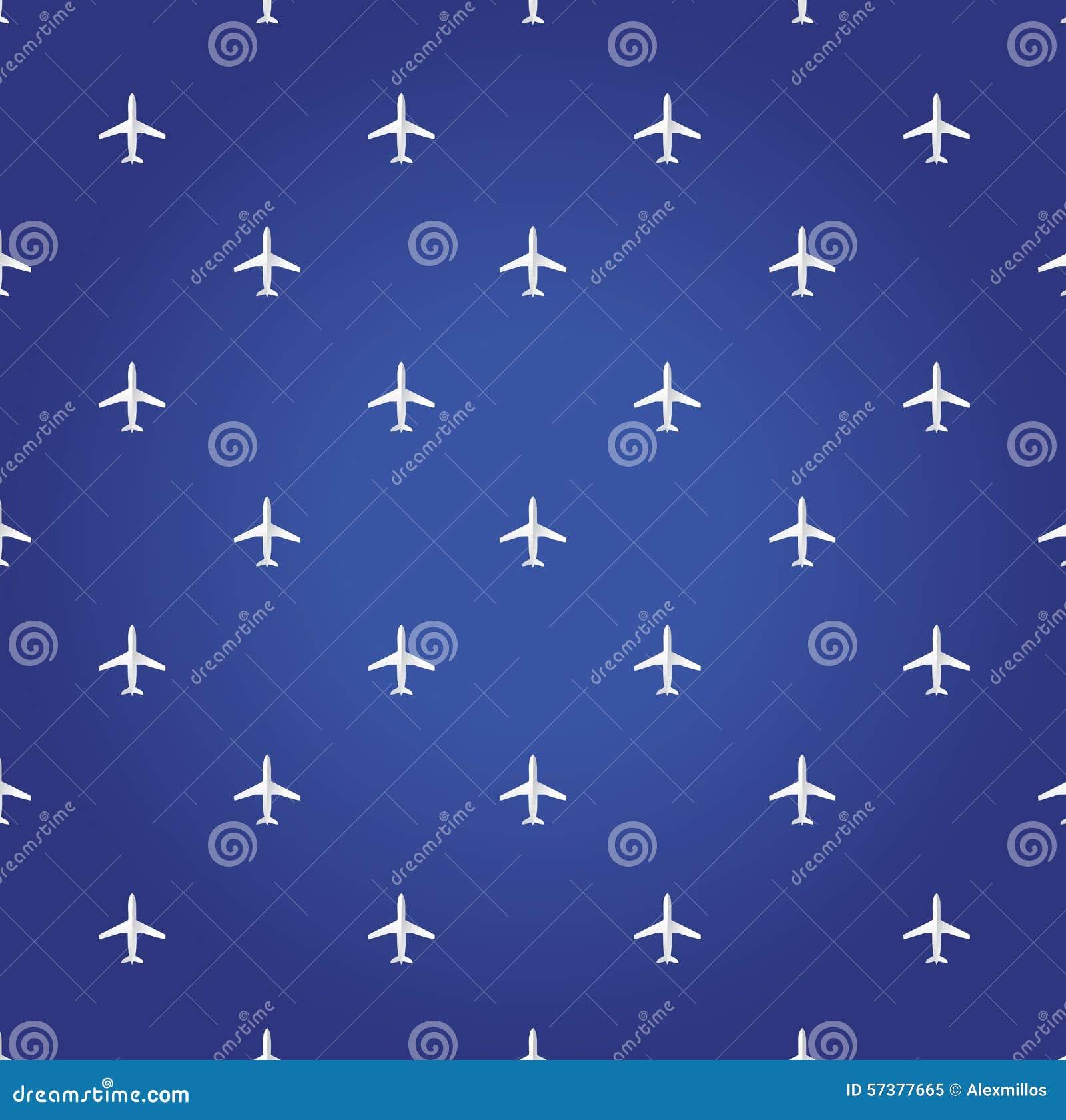 De reis blauwe achtergrond van het luchtvliegtuig