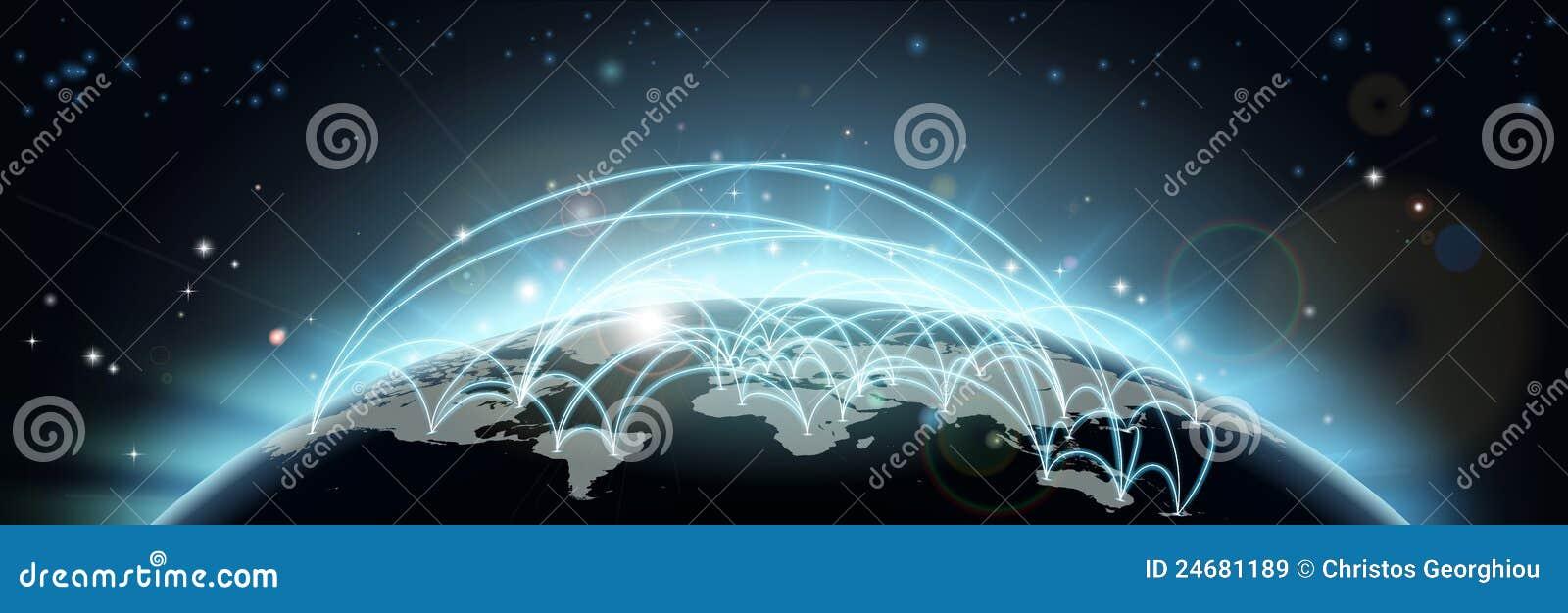 De reis van de wereld of communicatie kaart royalty vrije stock afbeeldingen afbeelding 24681189 - De thuisbasis van de wereld chesterfield ...