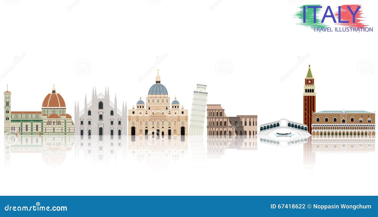 De reis van Italië