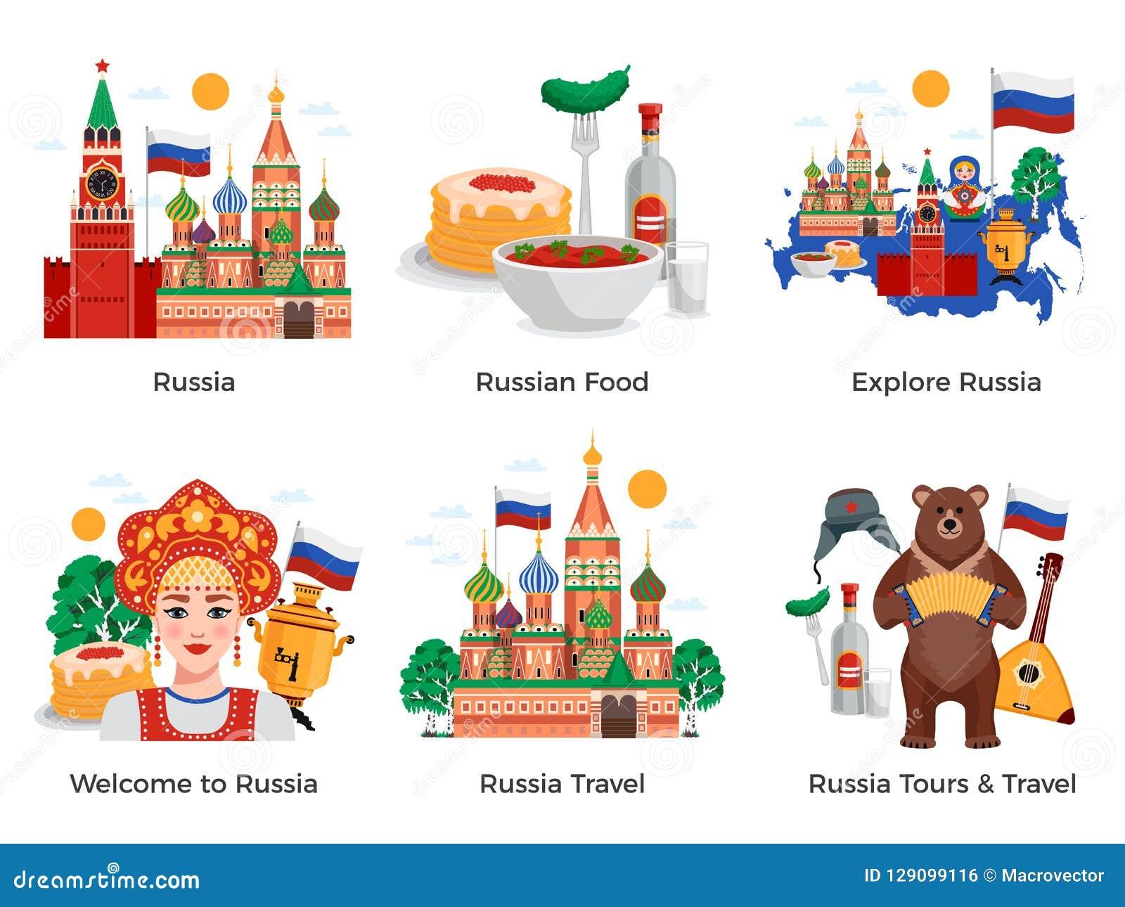 De Reissamenstellingen van Rusland