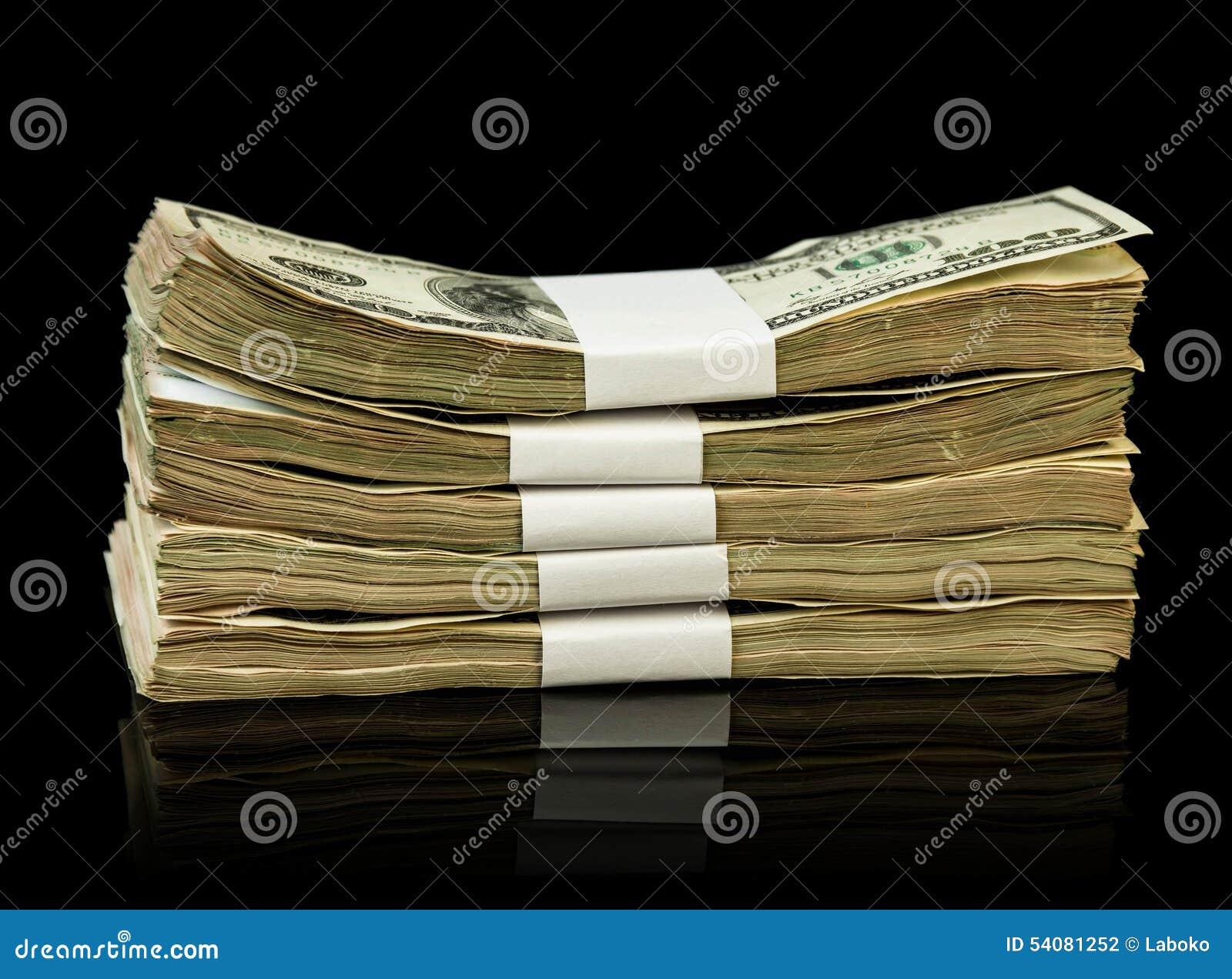 De rekeningen van het dollargeld