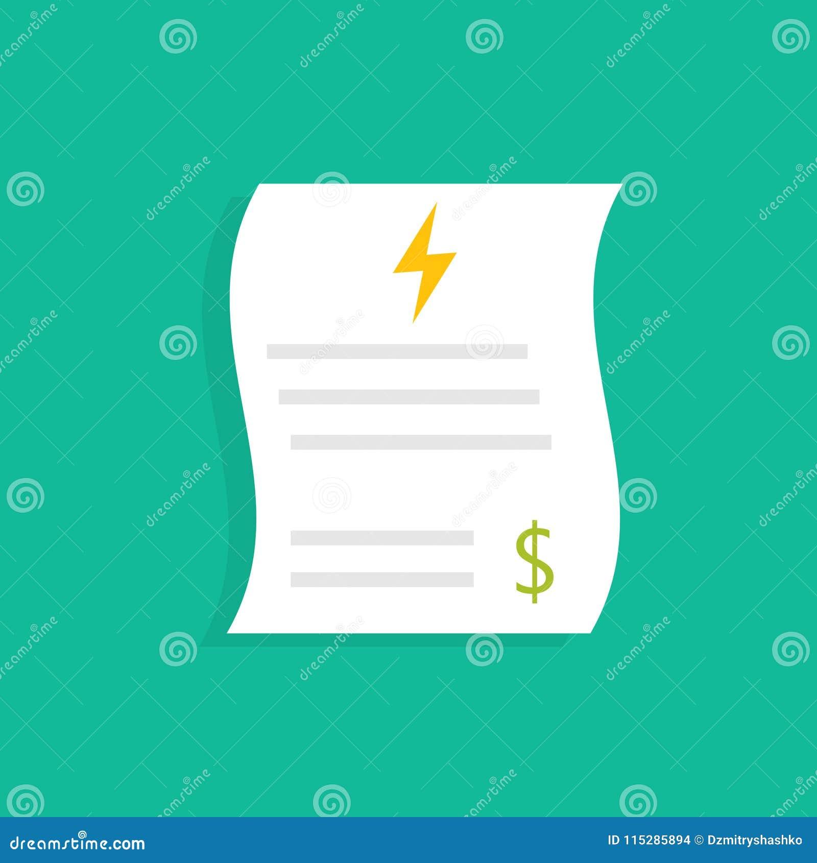 De rekeningen van het energienut